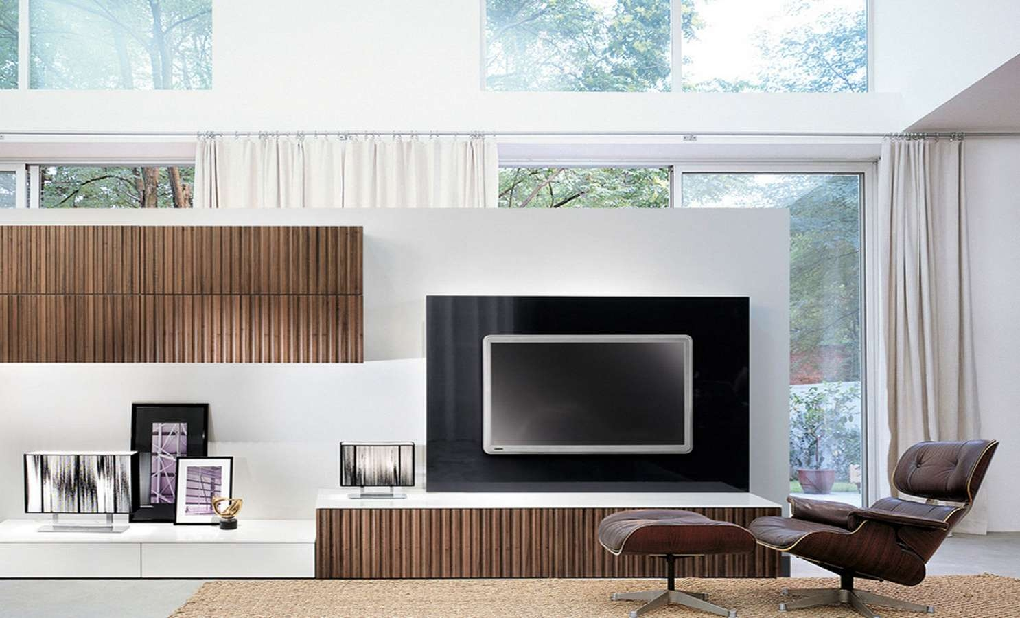 Excellent Tv Wall Unit Open System Tv Wall Unit Open System Jesse Intended For Full Wall Tv Cabinets (View 8 of 20)
