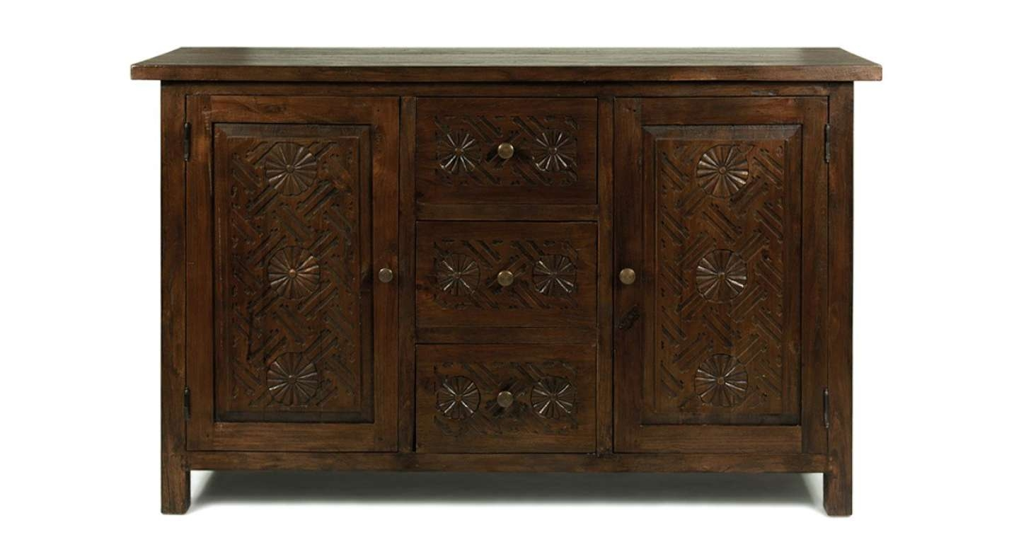 Exotic Contemporary Dark Wood Sideboard Tags : Dark Wood Sideboard With Small Dark Wood Sideboards (View 7 of 20)