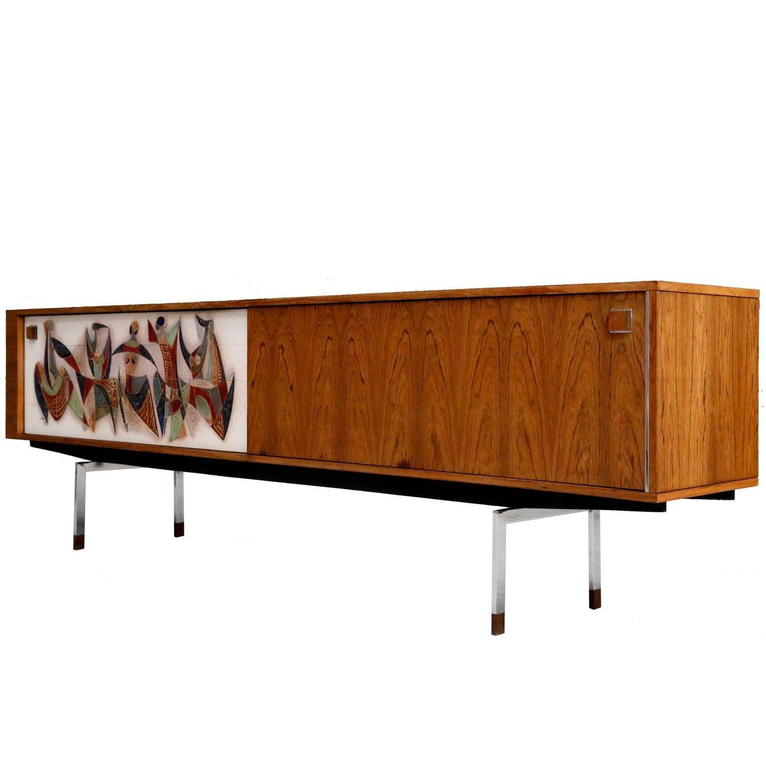 Extra Long Modernist Sideboardarchitect Alfred Hendrickx For With Regard To Long Sideboards (View 19 of 20)