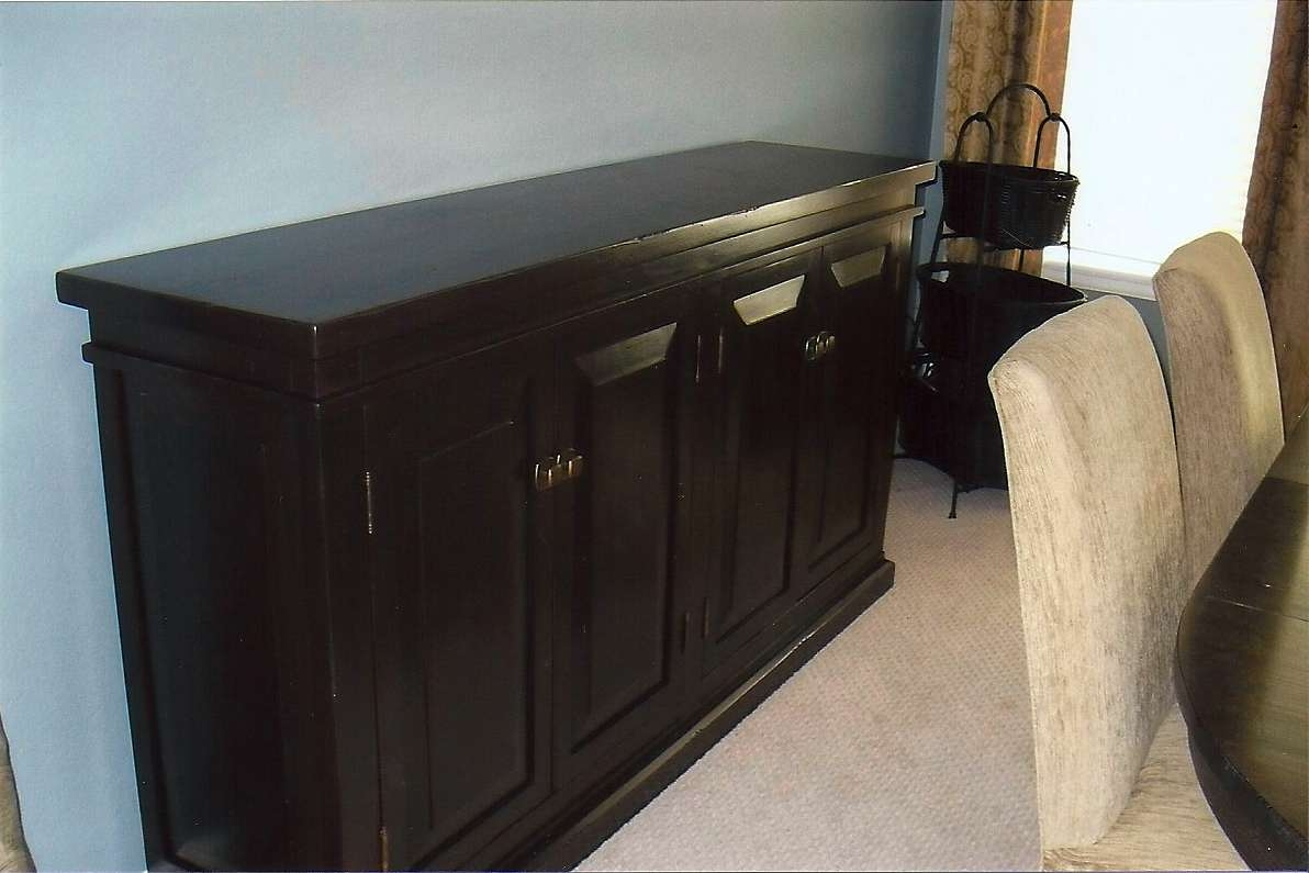 Fabulous Dining Sideboards And Buffets Buffet Espresso Credenza Regarding Espresso Sideboards (View 3 of 20)