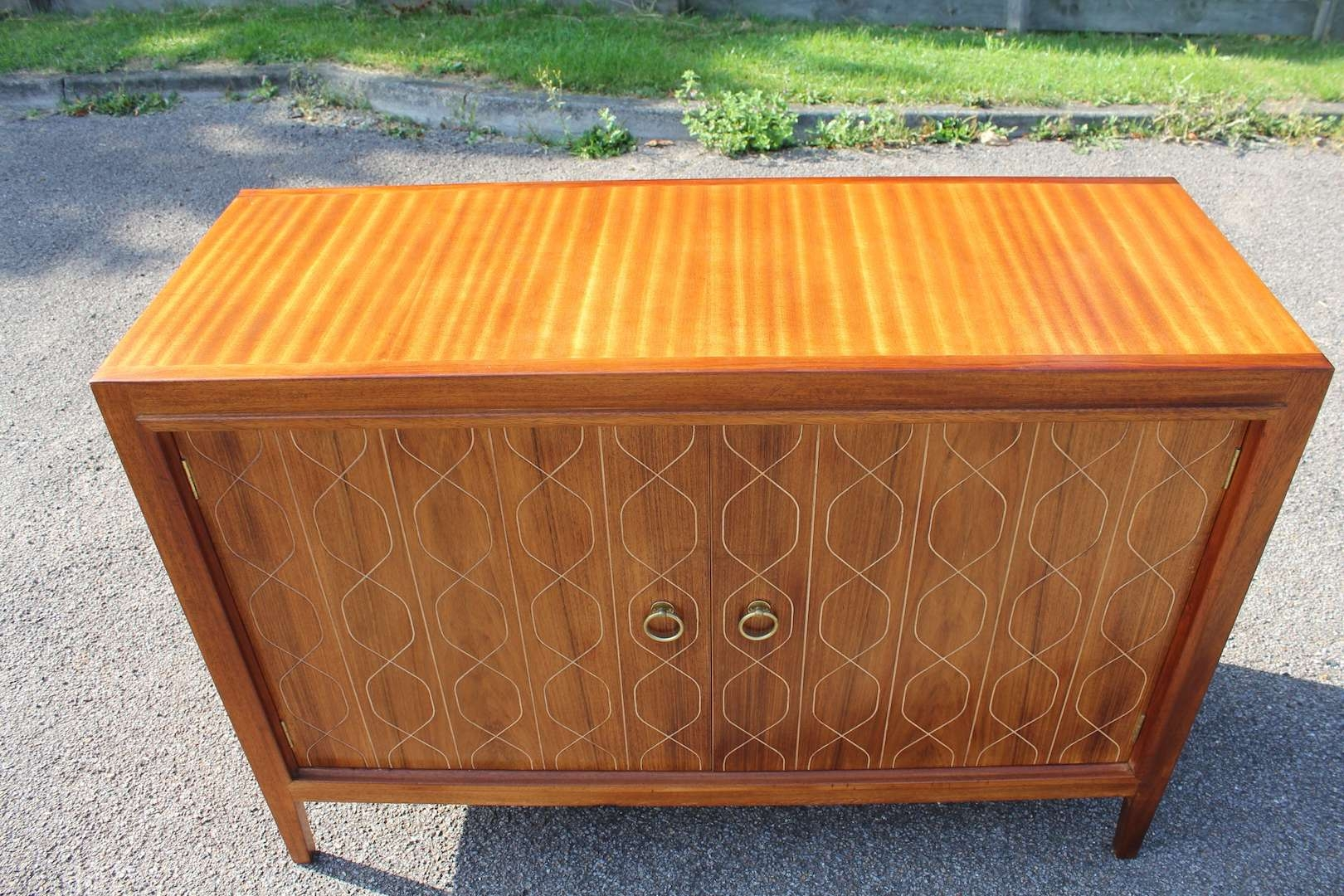 Fabulous Gordon Russell 'double Helix' Mahogany & Rosewood In Gordon Russell Helix Sideboards (View 18 of 20)