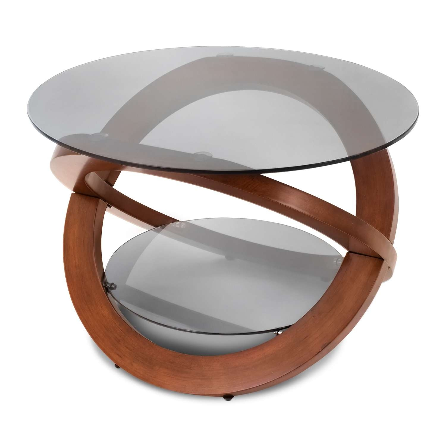Famous Aiden Coffee Tables Regarding Aiden Coffee Table – Walnut (View 5 of 20)