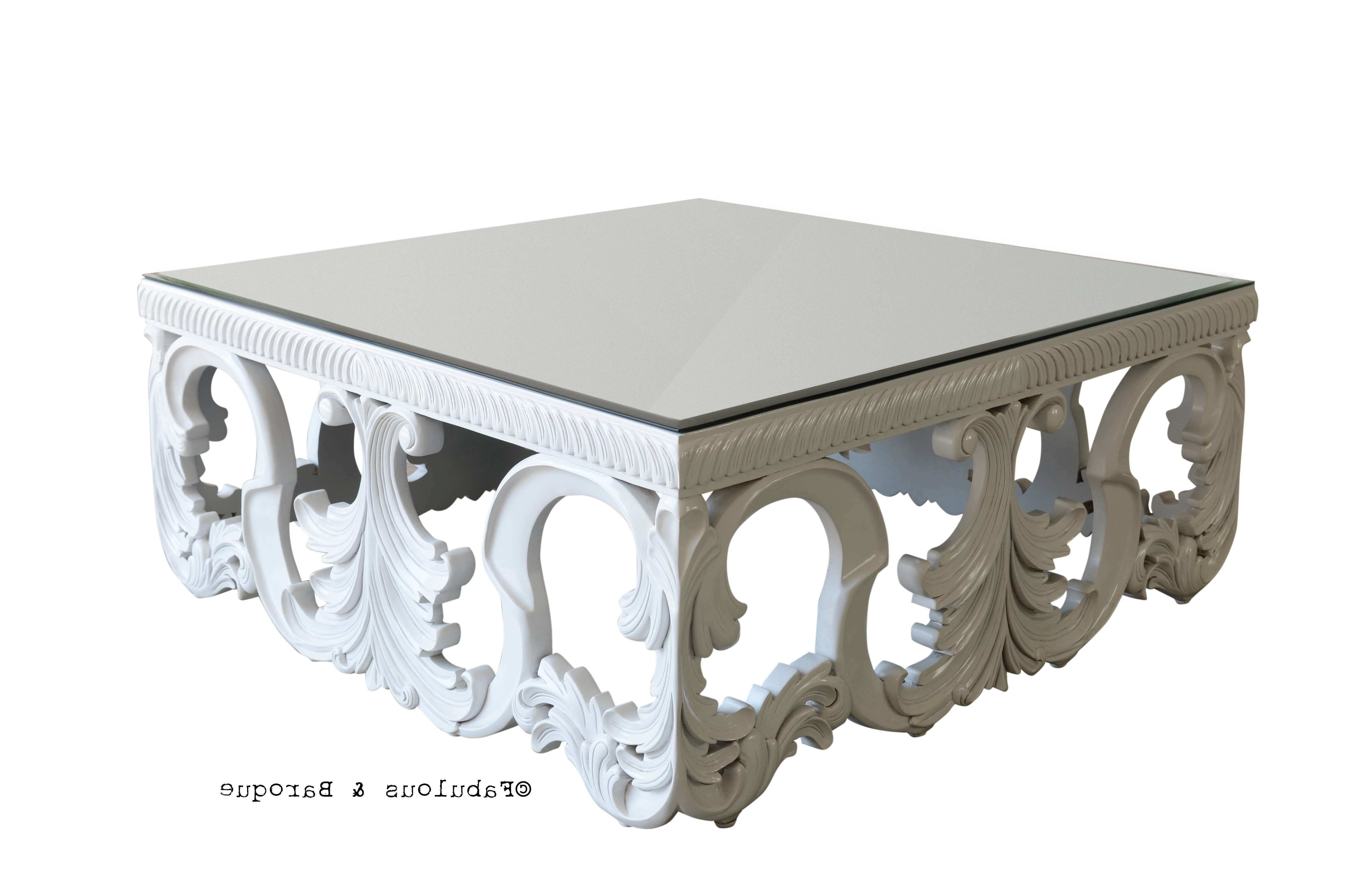 Famous Baroque Coffee Tables With Coffee Table : Interior Room Italian Roomwith Fancy Table Elegant (View 7 of 20)