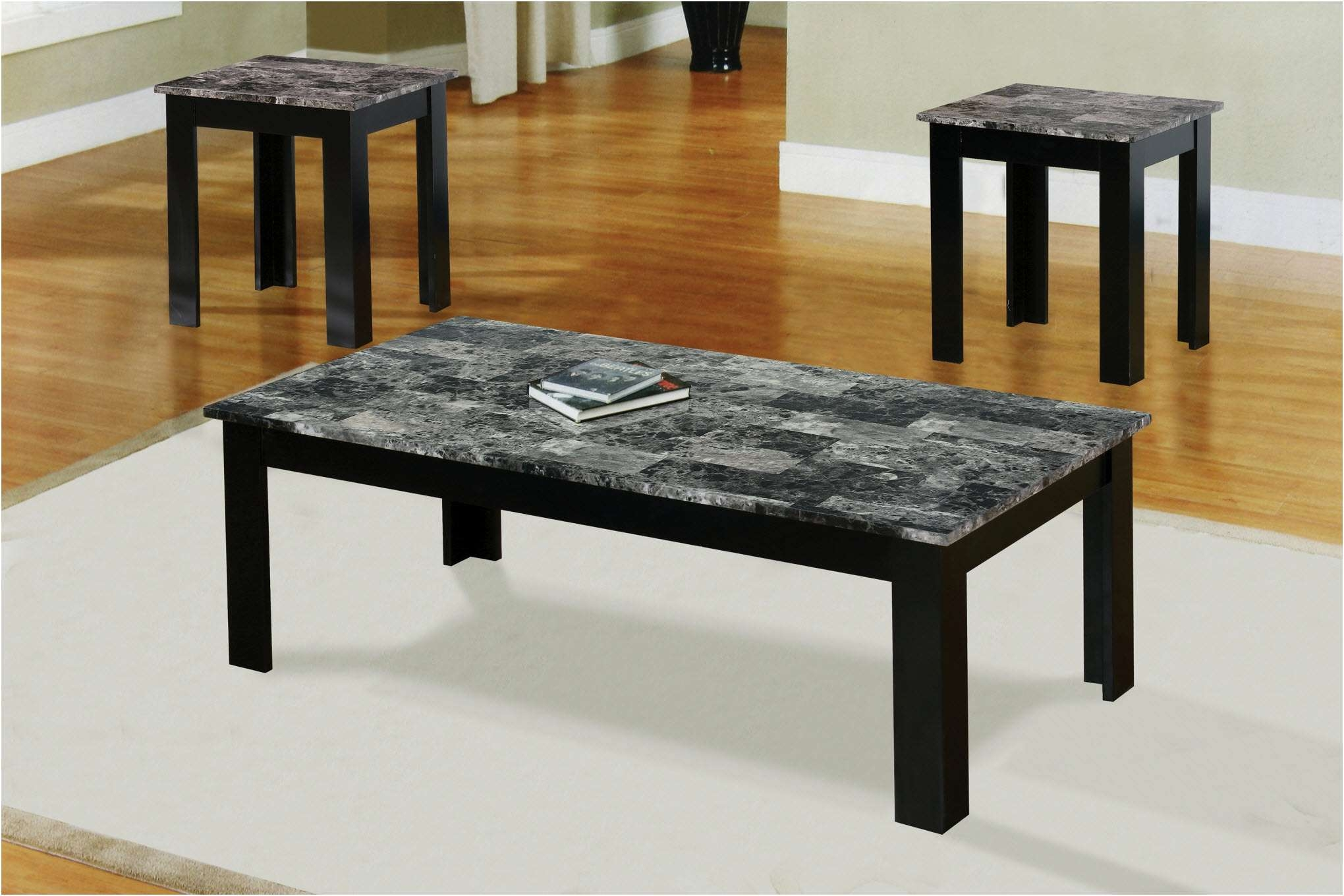 Famous Black And Grey Marble Coffee Tables Within Coffee Tables : Solid Marble Coffee Table Small Gold Black Side (View 12 of 20)