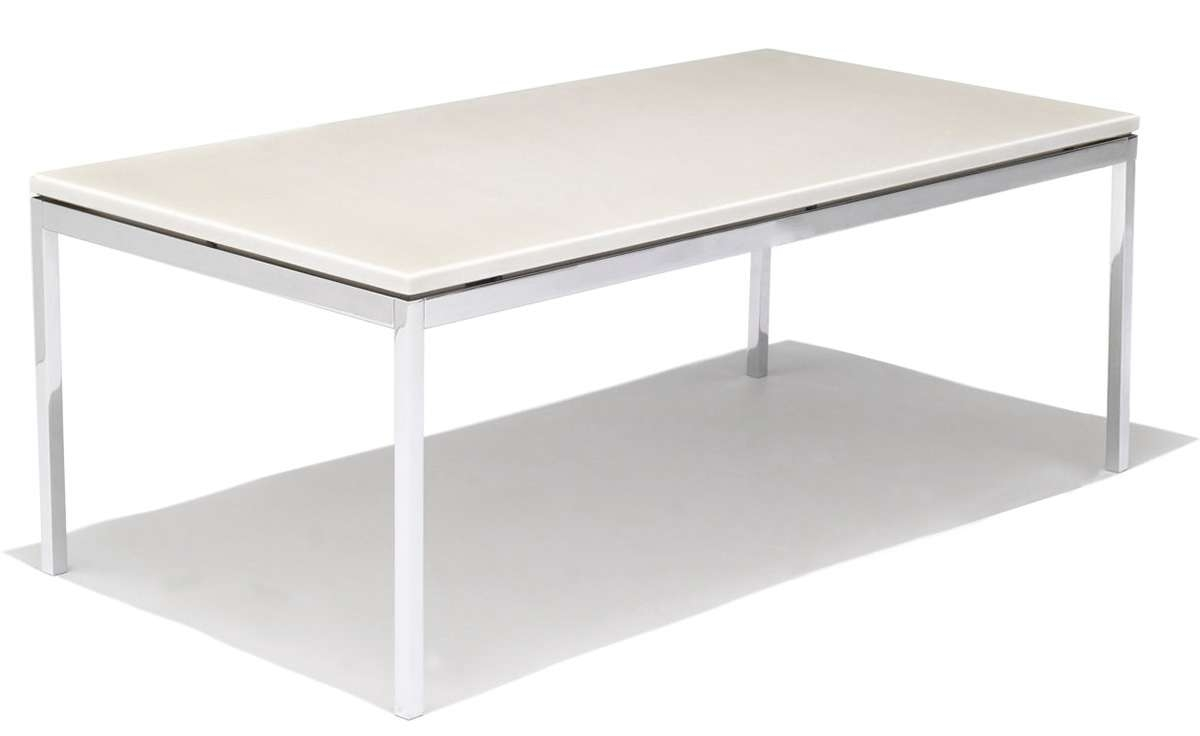 Famous Coffee Tables With Clock Top For Florence Knoll Rectangular Coffee Table – Hivemodern (View 15 of 20)