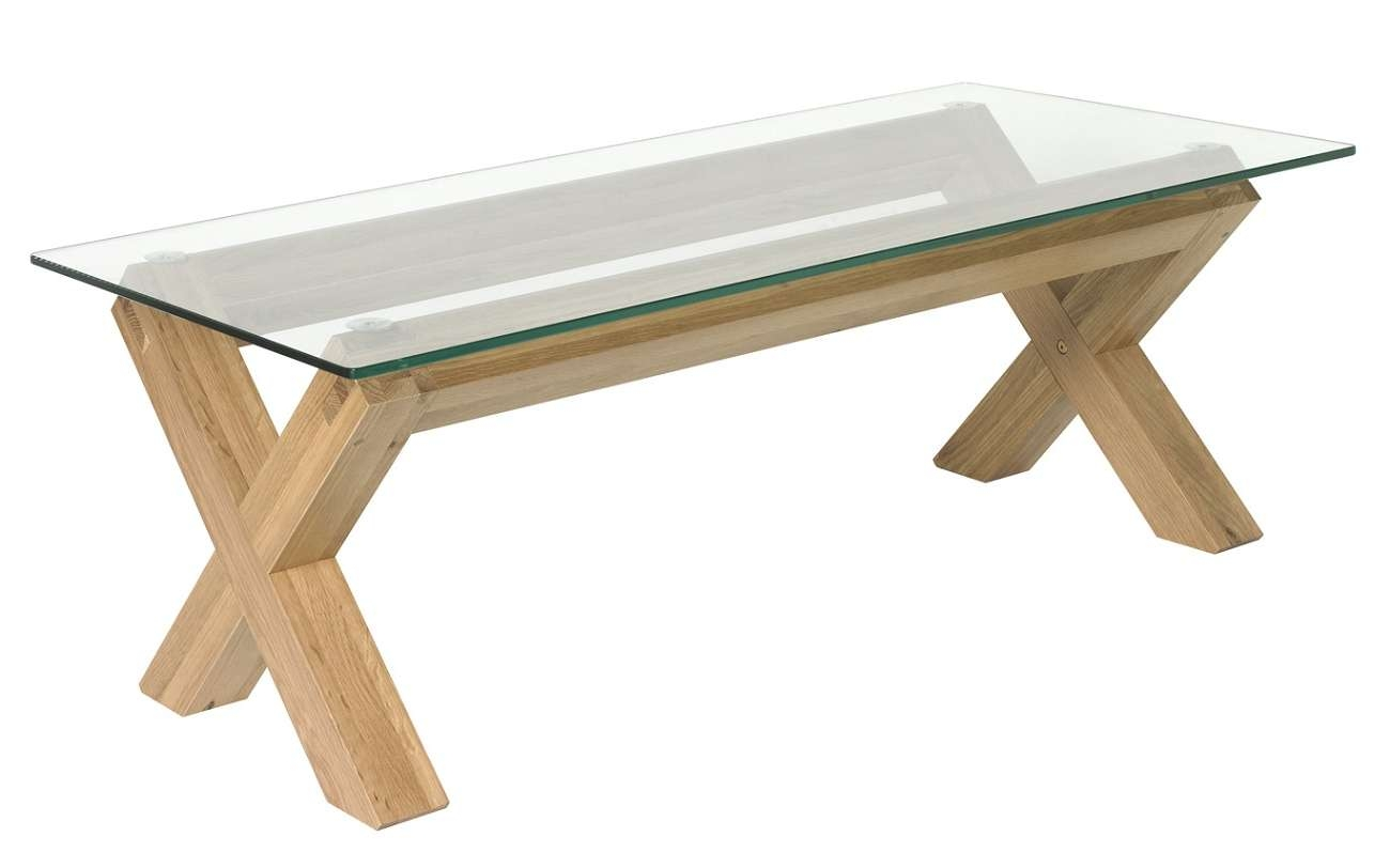 Famous Contemporary Oak Coffee Table Within Coffee Tables : Glass And Metal Coffee Table Contemporary Tables (View 7 of 20)