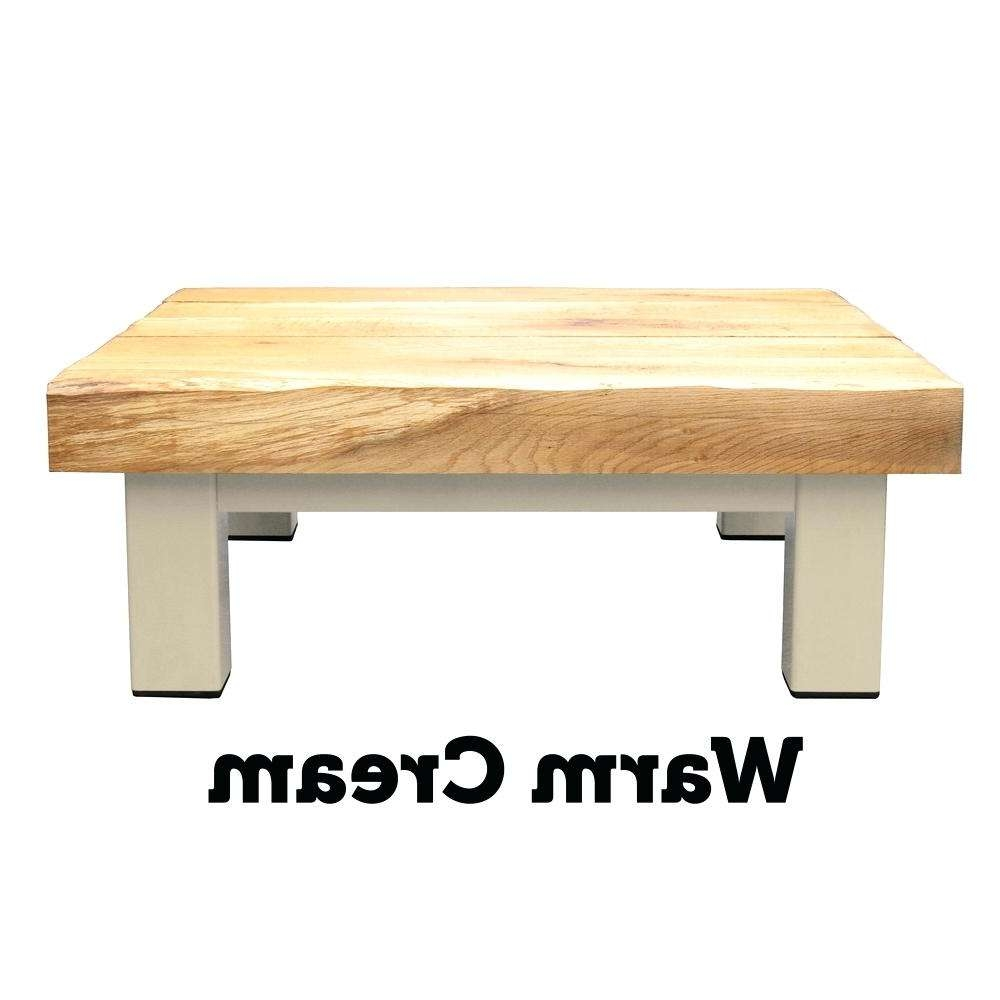 Famous Cream And Oak Coffee Tables In Cream And Oak Coffee Table Oak Iron Furniture Large Oak Coffee (View 9 of 20)