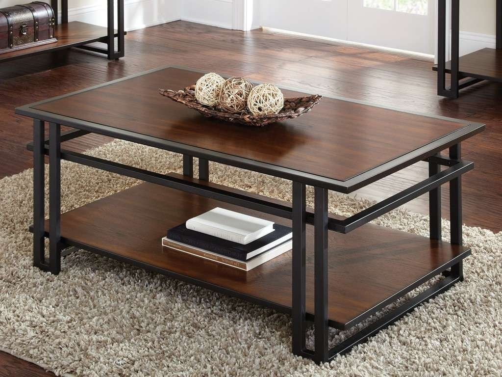 Famous Dark Wood Coffee Tables In Coffee Tables : Wood Stump Coffee Table Black And Dark Square (View 9 of 20)