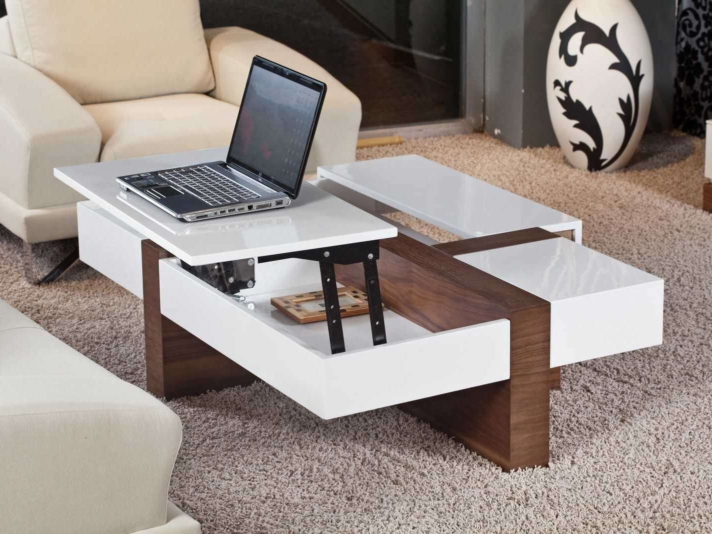 Famous Flip Up Coffee Tables Intended For Pop Up Coffee Table (View 7 of 20)