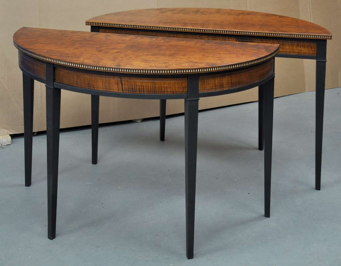Famous Half Circle Coffee Tables With Dorset Custom Furniture – A Woodworkers Photo Journal: The Half (View 11 of 20)