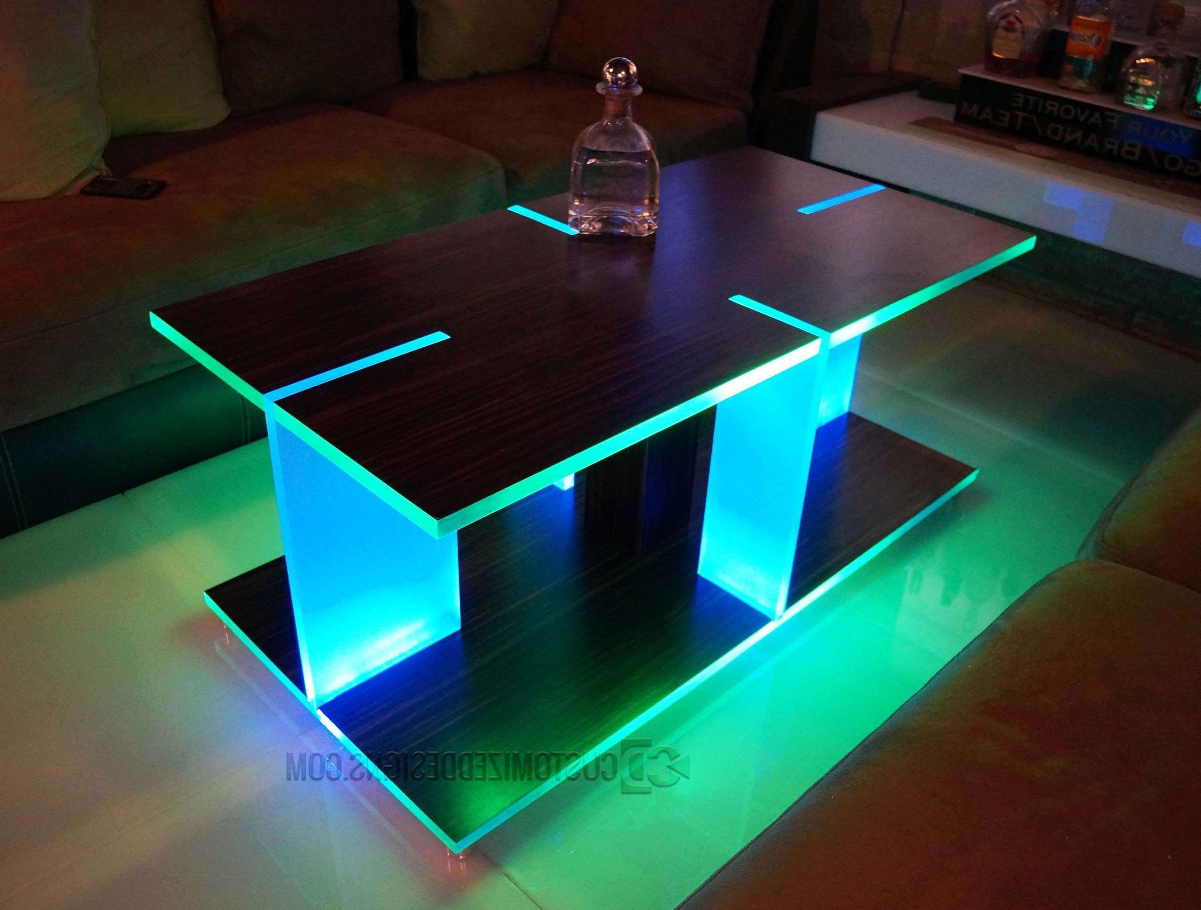 20 Inspirations of Led Coffee Tables