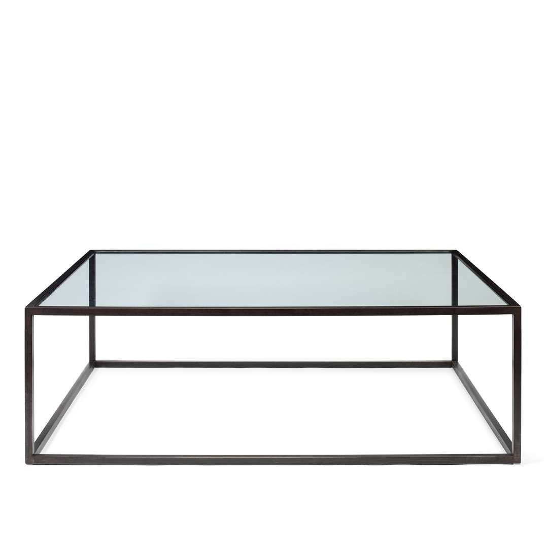 Famous Modern Square Glass Coffee Tables With Regard To Coffee Table : Large Glass Coffee Tables Pezzani Modern Square (View 8 of 20)