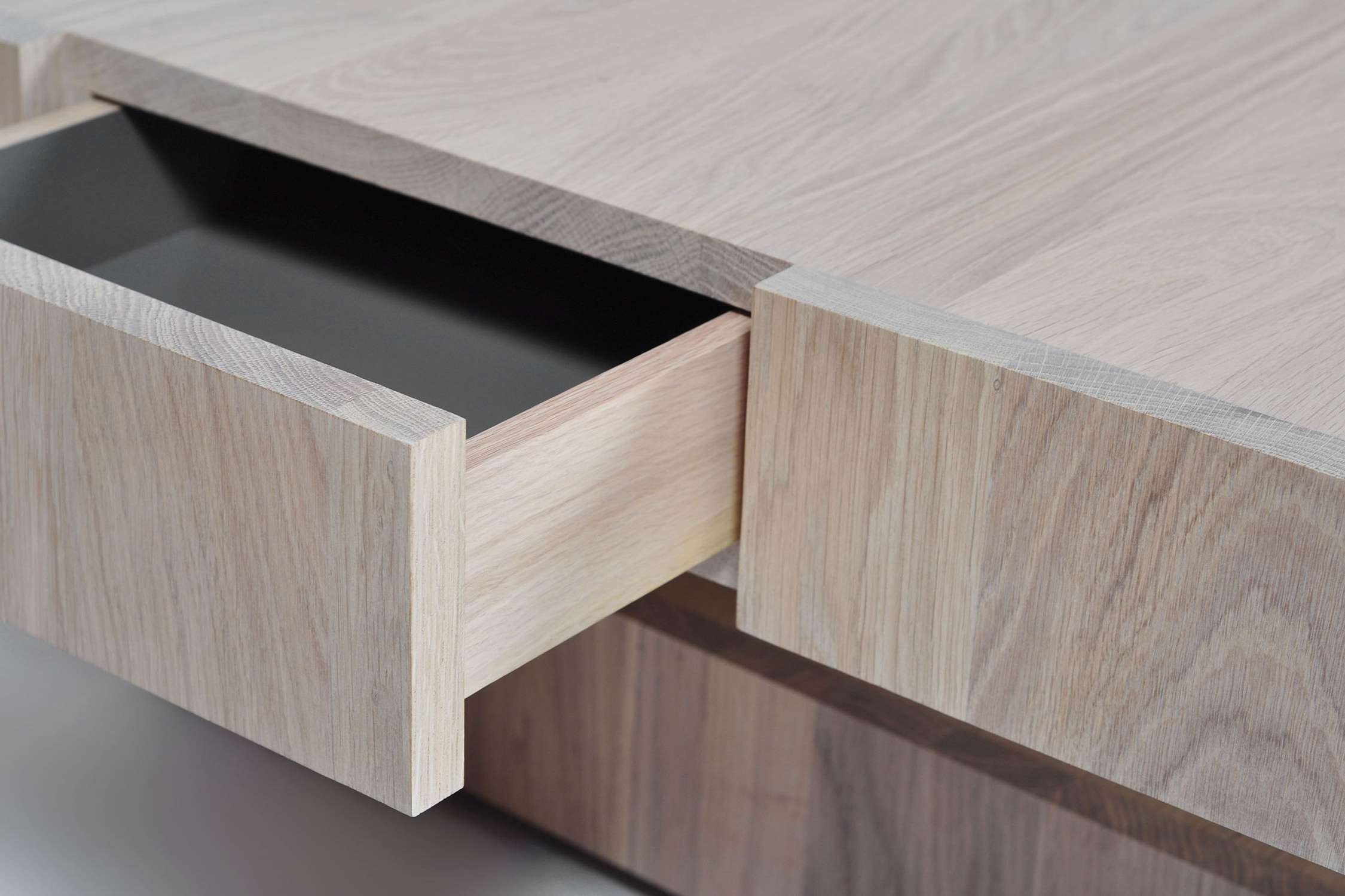 Famous Oak Storage Coffee Tables For Contemporary Coffee Table / Oak / Square / With Storage (View 6 of 20)