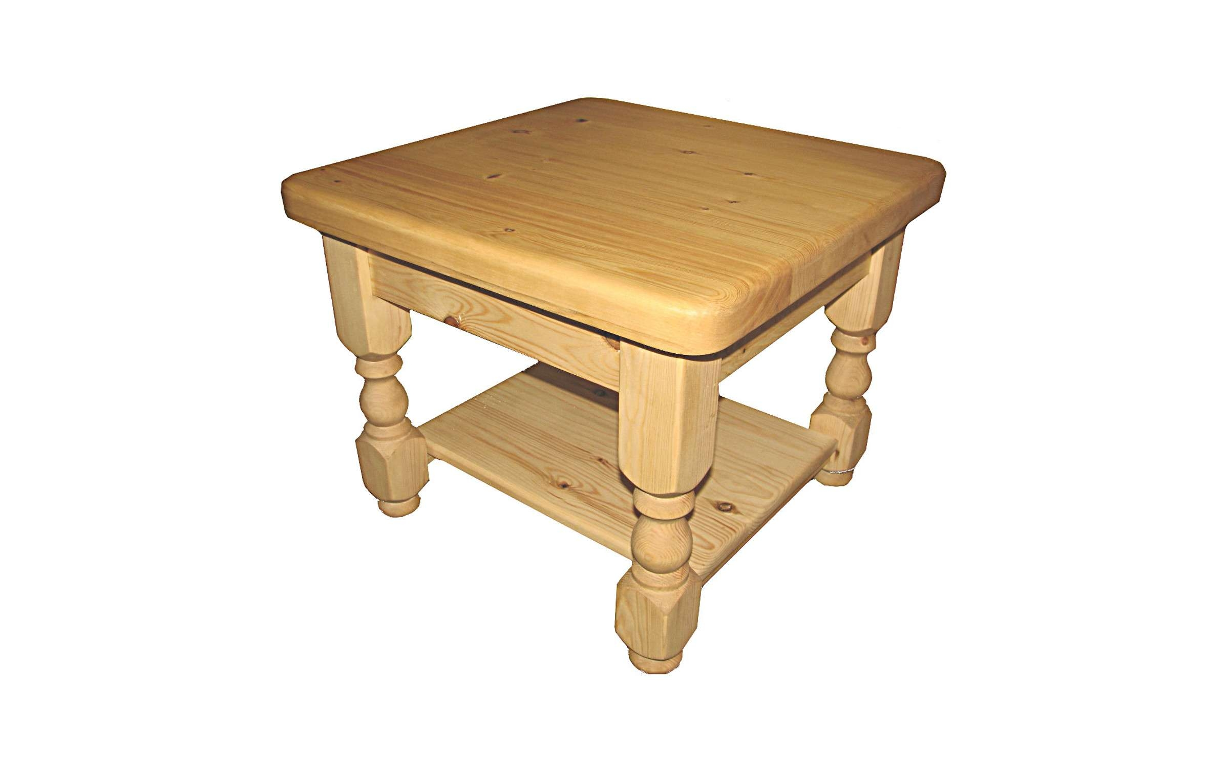 Famous Pine Coffee Tables With Storage Throughout Drawers : Coffee Tables Kerris Farmhouse Pine 30 Square With Shelf (View 11 of 20)