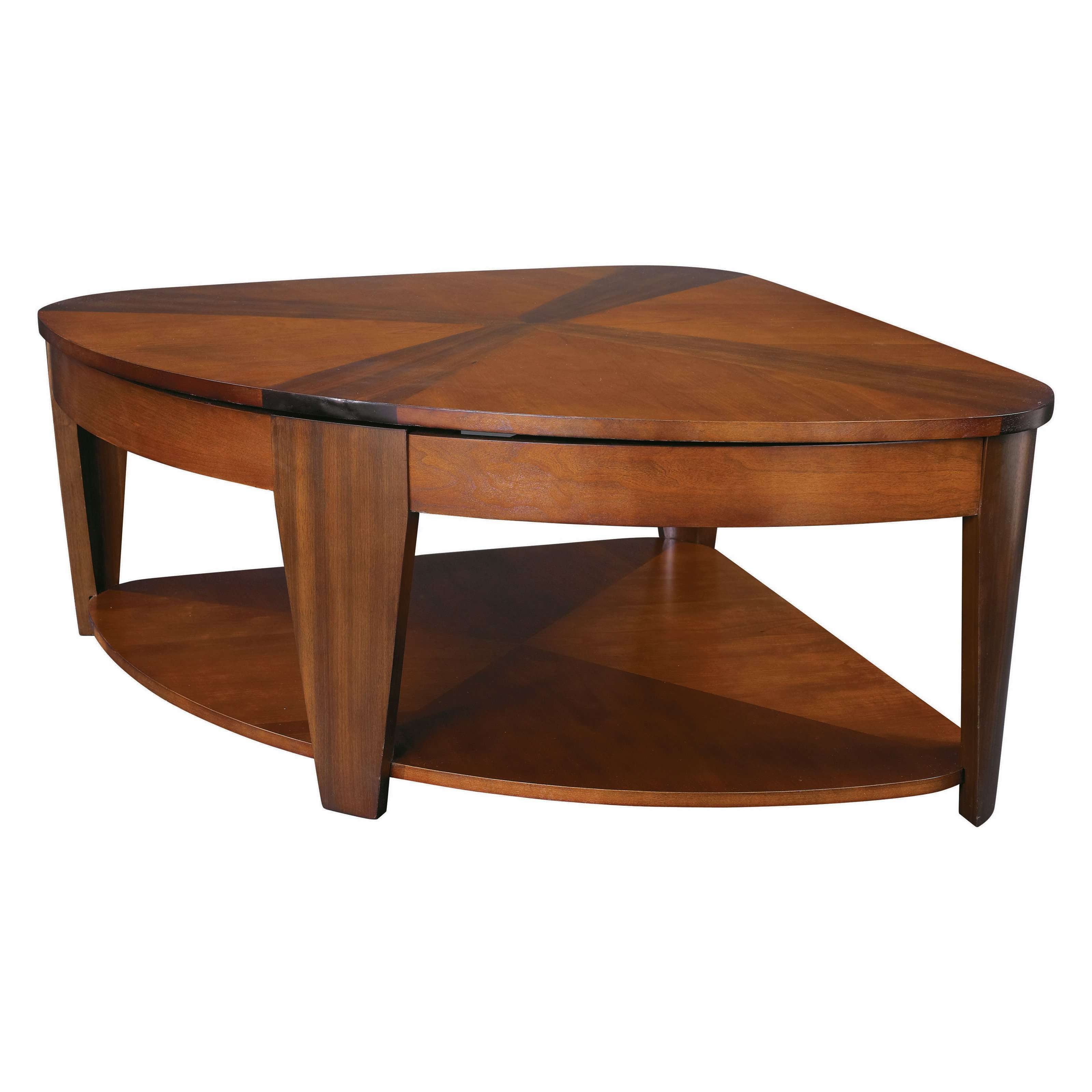 Famous Raise Up Coffee Tables Within Coffee Tables : Trendy Contemporary Dining Room Glass Top Wood (View 13 of 20)