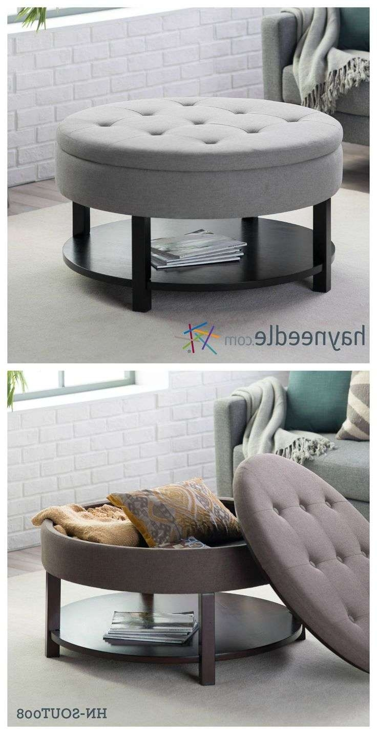 Famous Round Coffee Tables With Storages Regarding Best 25+ Coffee Table Storage Ideas On Pinterest (View 6 of 20)