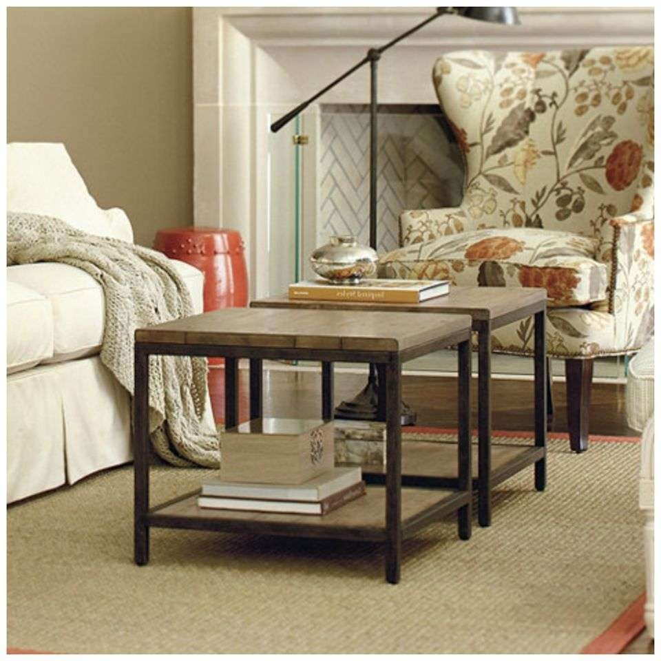 Famous Space Coffee Tables For 7 Coffee Table Alternatives For Small Living Rooms (View 4 of 20)