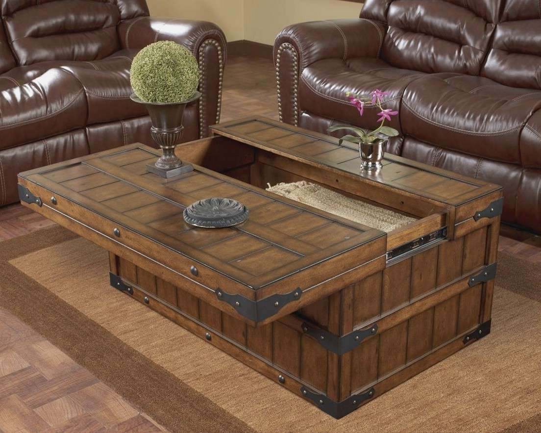 Famous Square Wood Coffee Tables With Storage With Regard To Square Wood Coffee Table With Storage Square Coffee Table With (View 12 of 20)