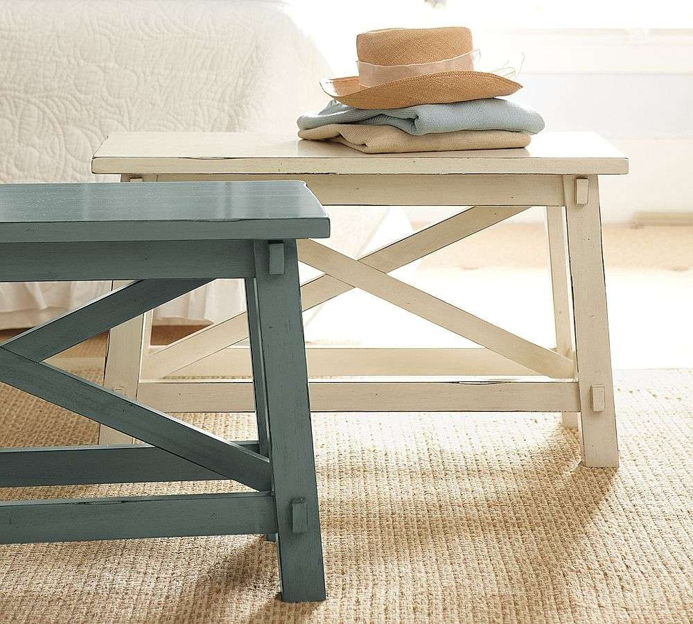 Famous Thin Coffee Tables For Benches : Coffee Table Bench Reclaimed Wood Diy Storage With Tray (View 17 of 20)