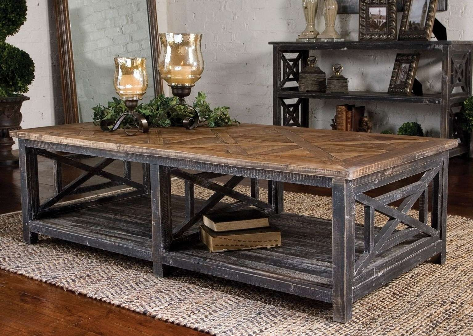 Featured Photo of Large Rustic Coffee Tables