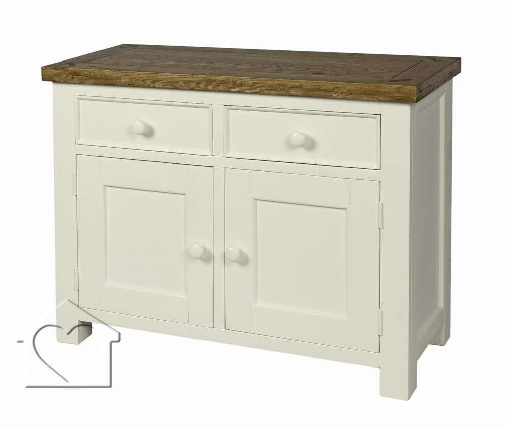 Farmhouse Cream 2 Drawer 2 Door Sideboard – £ (View 7 of 20)