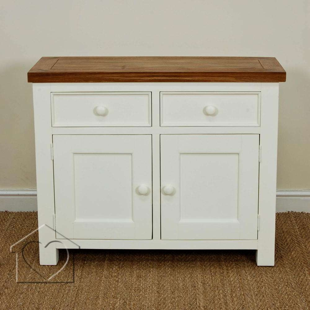 Farmhouse Cream 2 Drawer 2 Door Sideboard – £ (View 6 of 20)