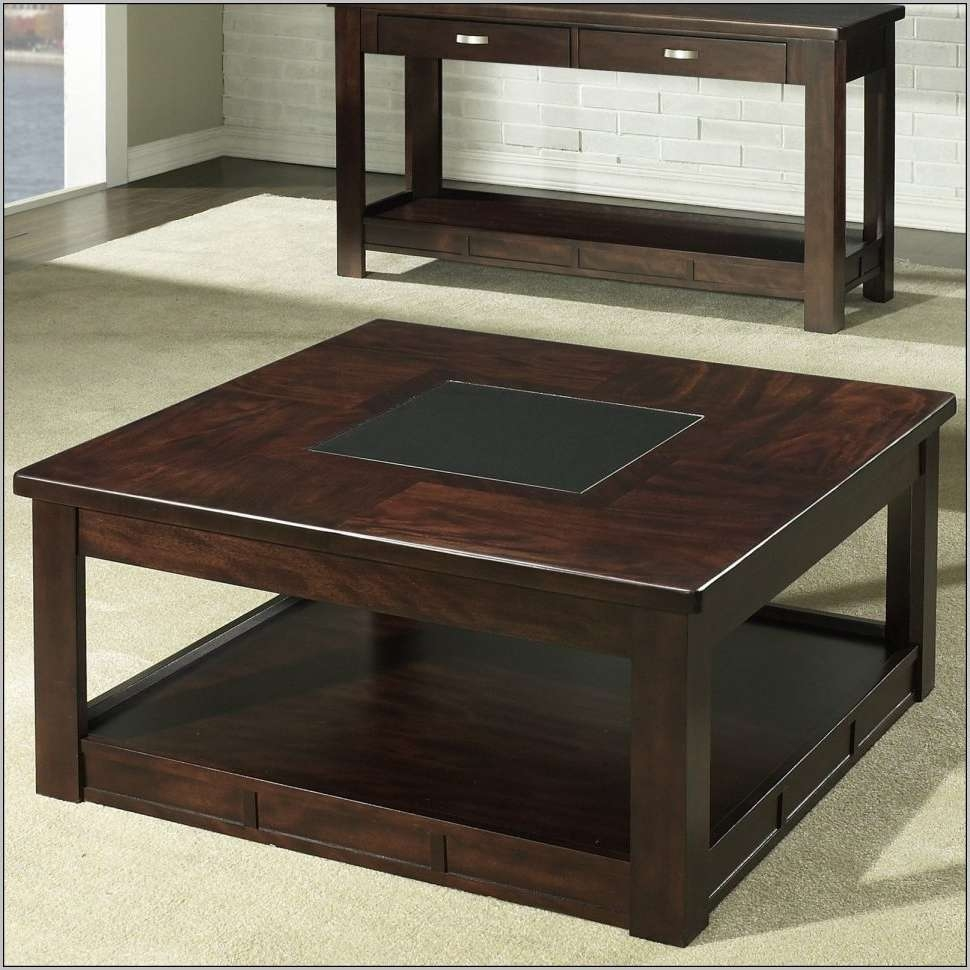 Fashionable Big Square Coffee Tables Intended For Coffee Tables : Square Coffee Table Ikea White Small L Tables Live (View 18 of 20)