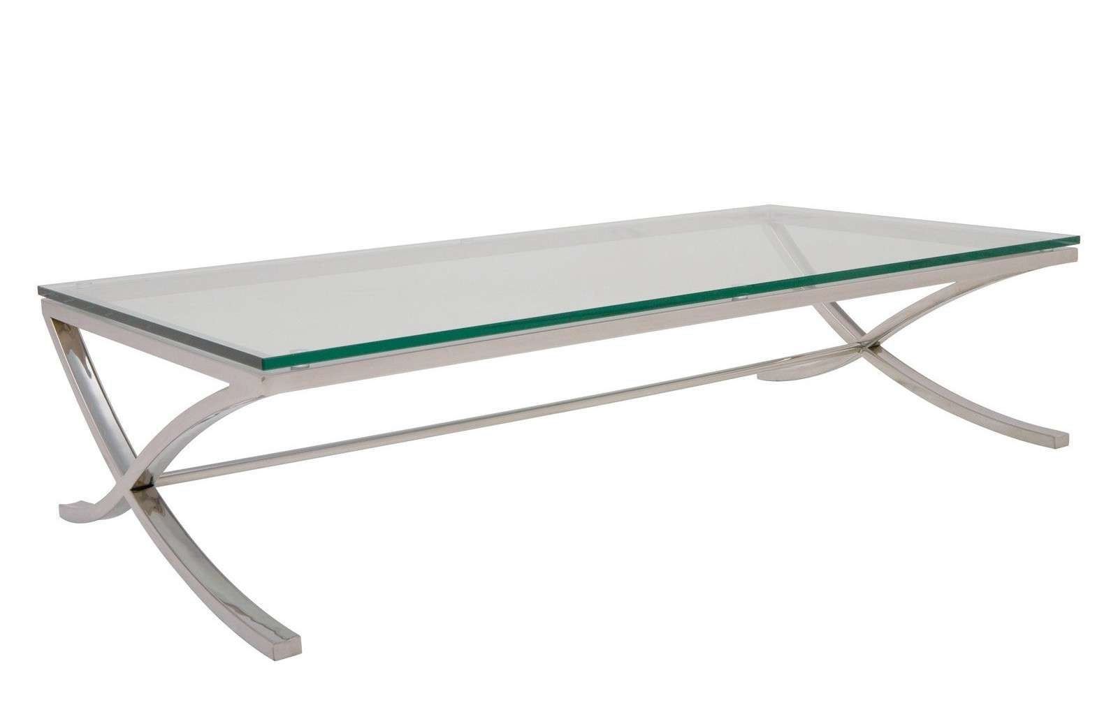 Fashionable Chrome And Glass Coffee Tables Within All You Need To Know About Glass And Chrome Coffee Tables (View 4 of 20)
