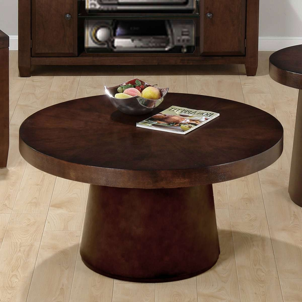 Fashionable Dark Brown Coffee Tables With Inspiring Ideas For Small Coffee Tables Design (View 10 of 20)