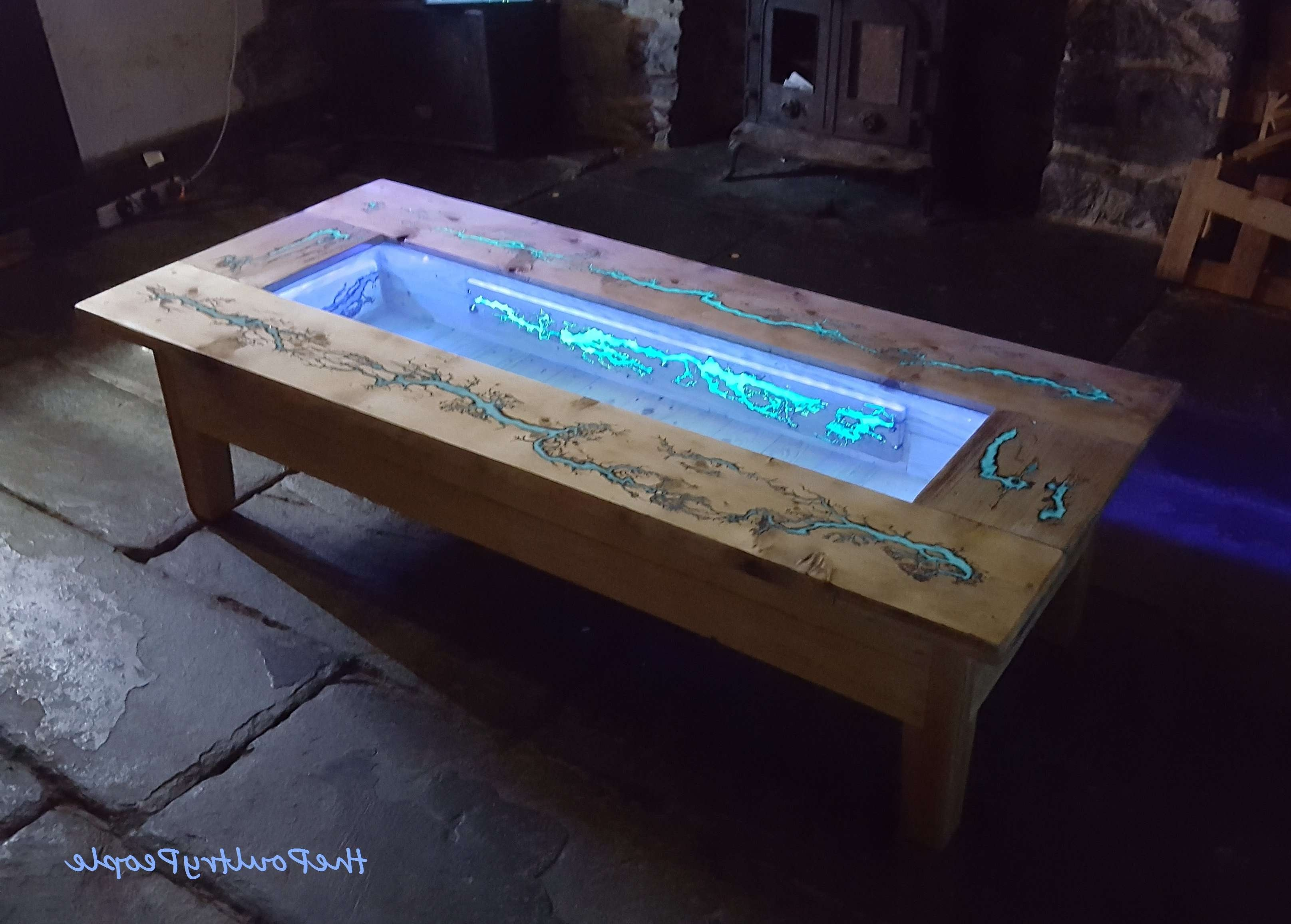 Fashionable Dark Wood Coffee Tables In Diy Pallet Coffee Table – Glow In The Dark Wood Projects With (View 13 of 20)