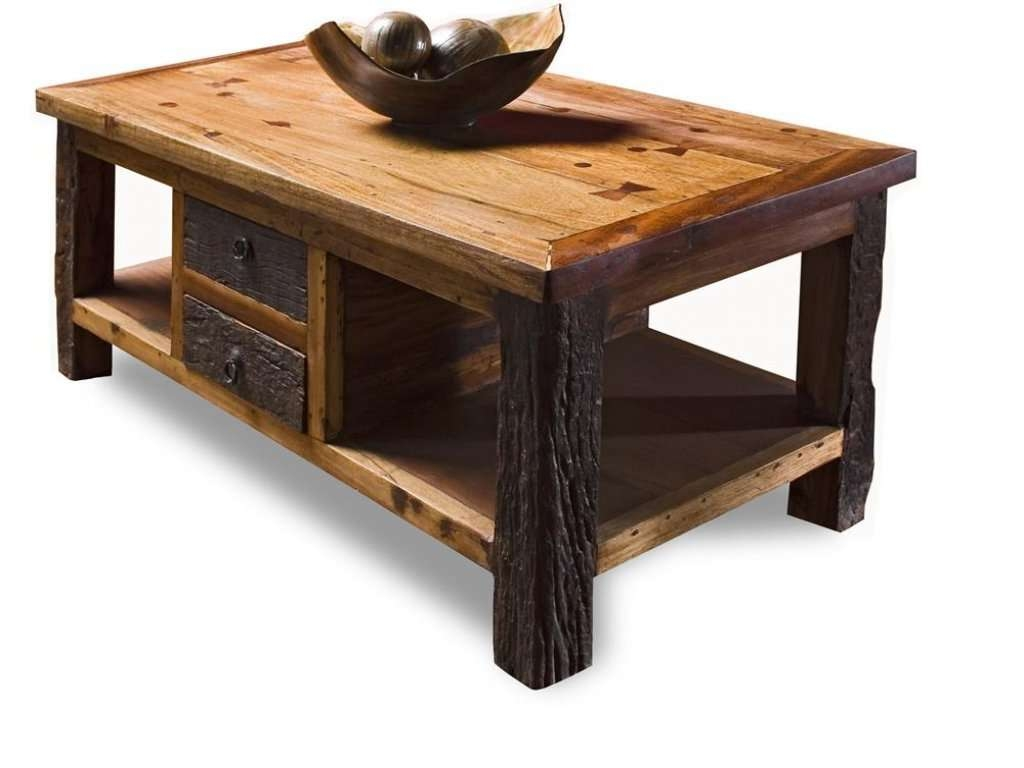 Fashionable Elegant Rustic Coffee Tables Inside Furniture: Rustic Coffee Table Elegant Daily Wood Job Choice (View 14 of 20)