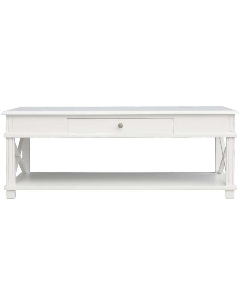 Fashionable French White Coffee Tables For Hampton Coffee Table French White (View 2 of 20)