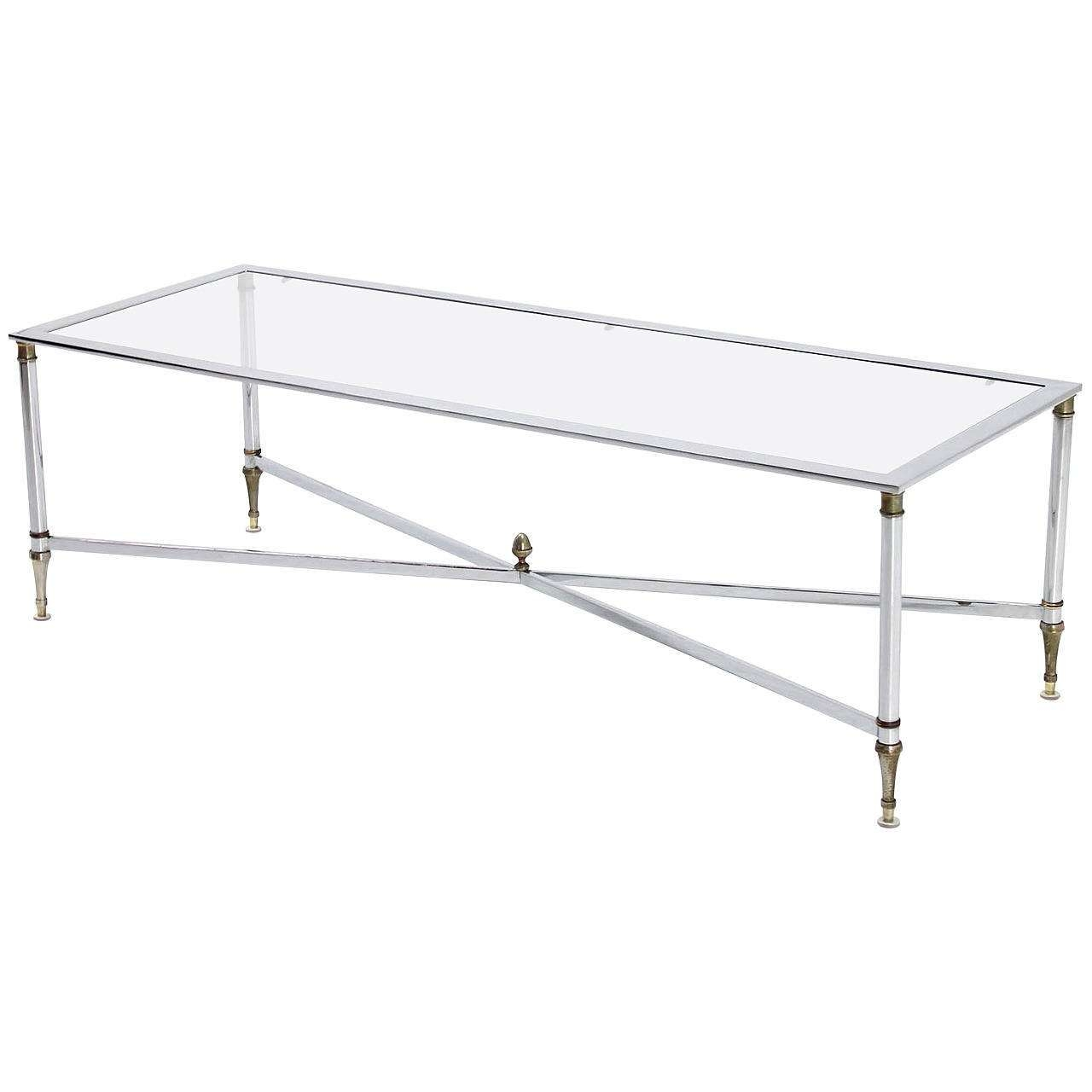 Featured Photo of Glass Chrome Coffee Tables
