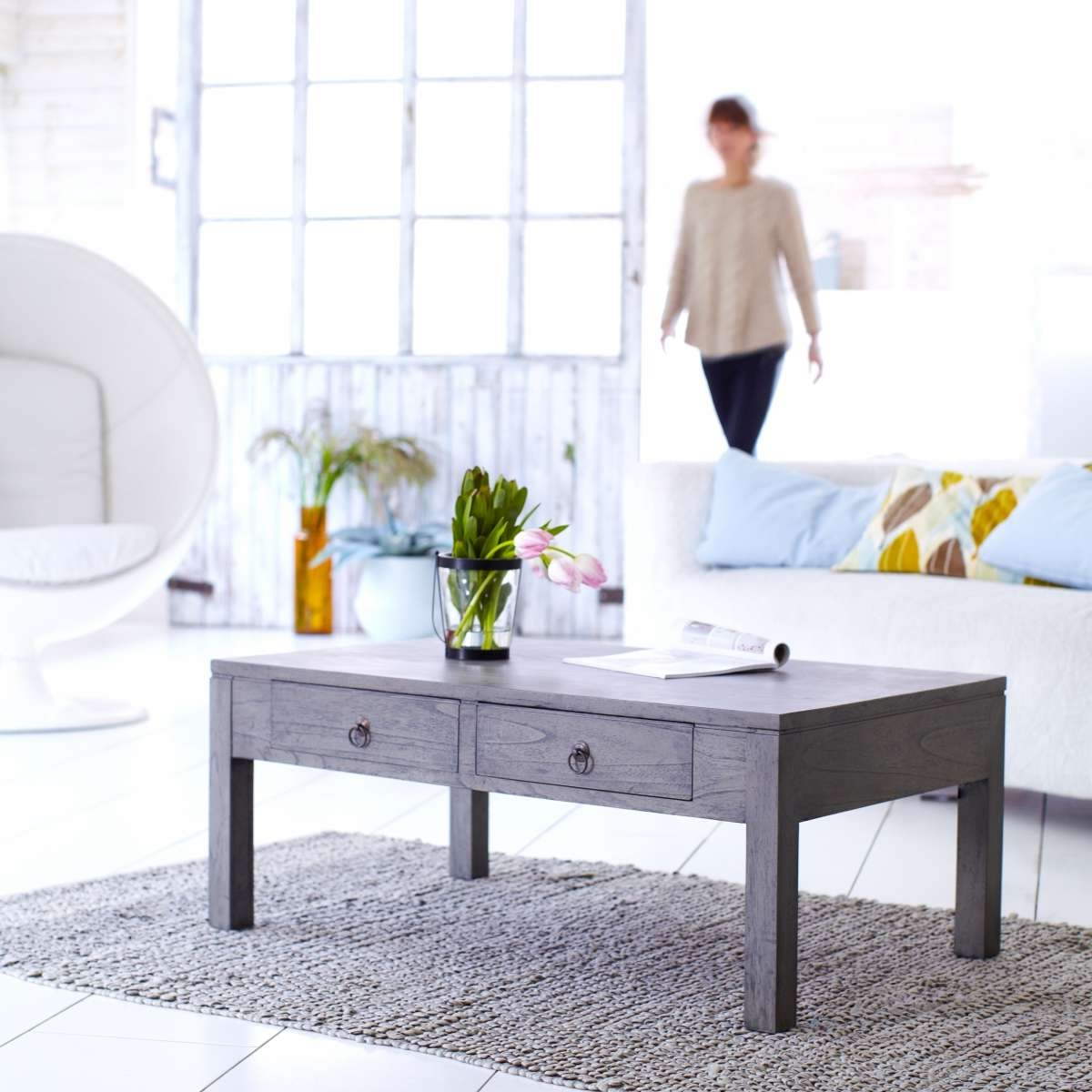 Fashionable Grey Wood Coffee Tables Throughout Coffee Table (View 11 of 20)