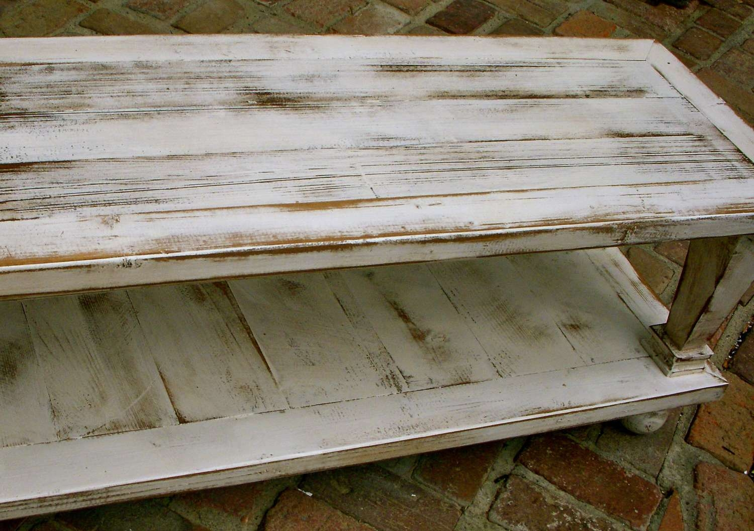 Fashionable Handmade Wooden Coffee Tables Throughout 45 X 30 X 16 Wooden Coffee Table Rustic Wood Furniture (View 8 of 20)