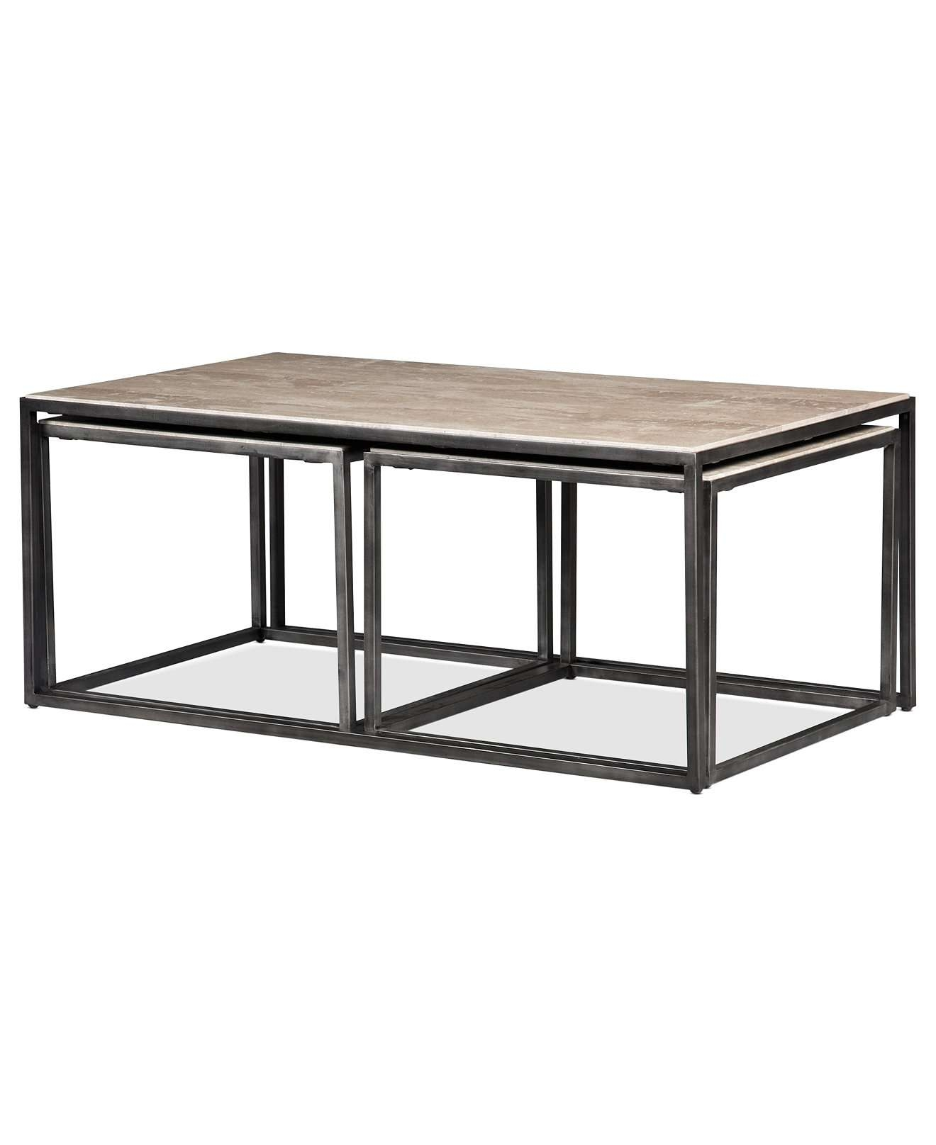 Fashionable Nest Coffee Tables In Table Awesome Glass Of 2 Piece Nesting