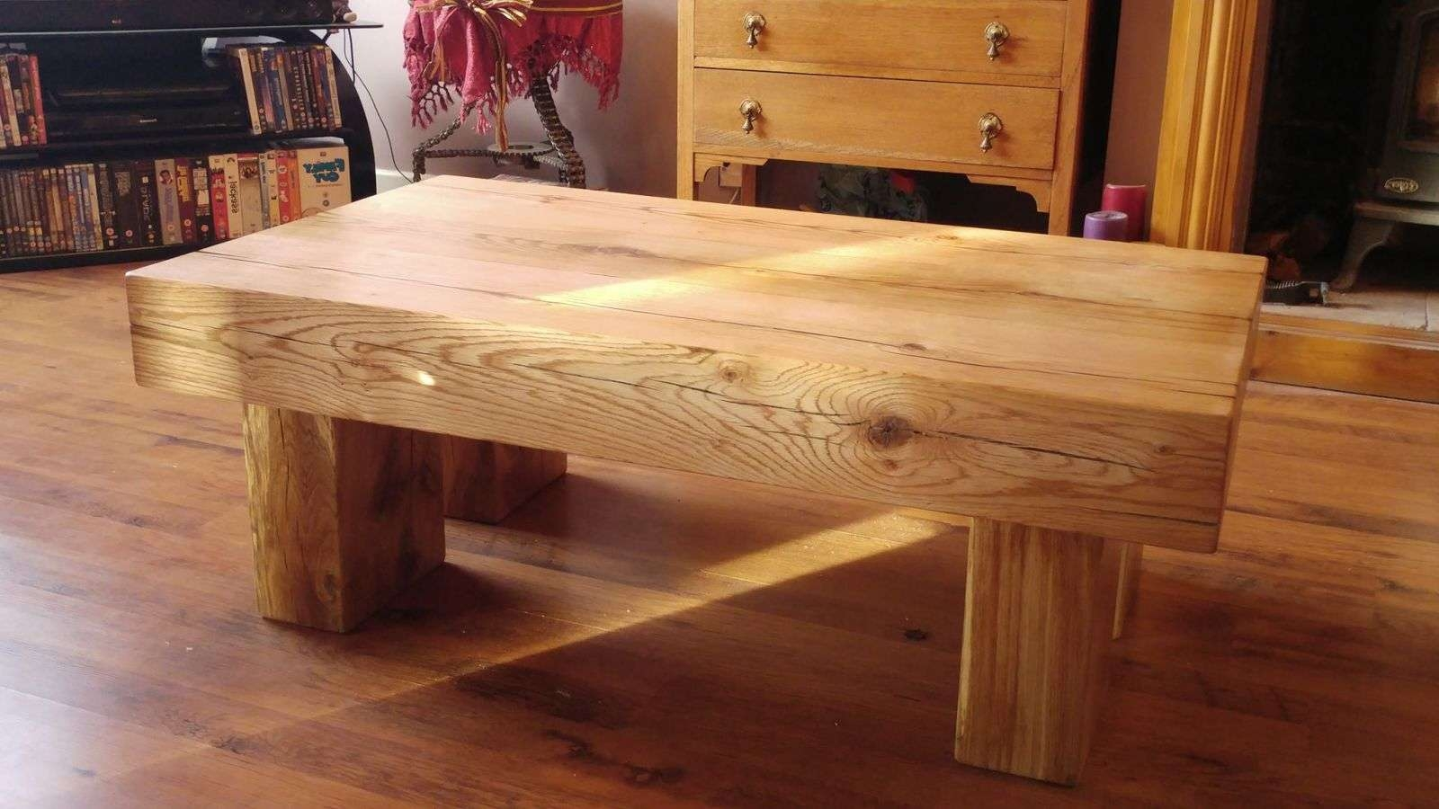 Fashionable Oak Sleeper Coffee Tables Throughout Railway Sleepers – Passionate About Railway Sleepers (View 7 of 20)
