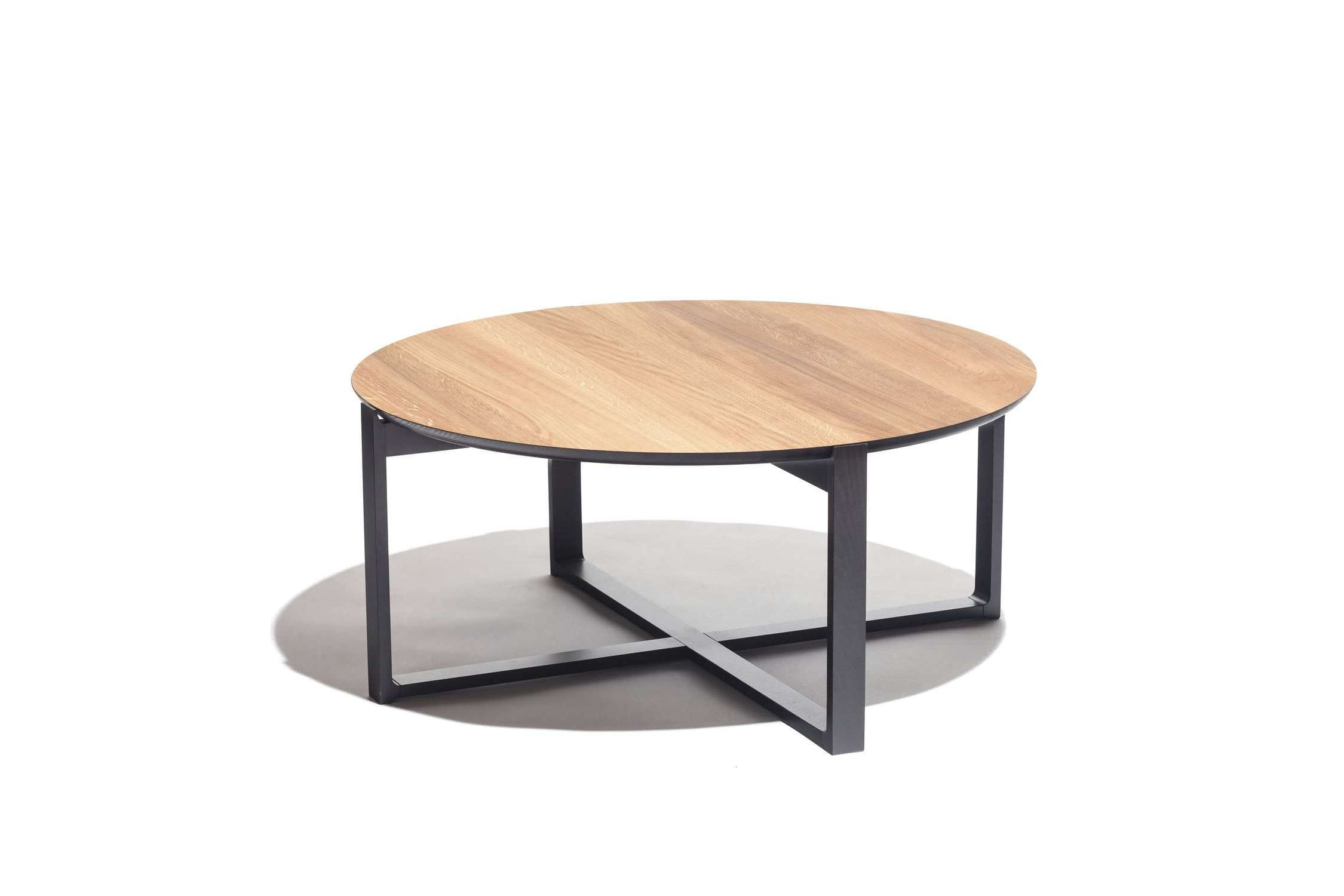 Fashionable Round Beech Coffee Tables Throughout Contemporary Coffee Table / Oak / Beech / Round – Delta 723kai (View 2 of 20)