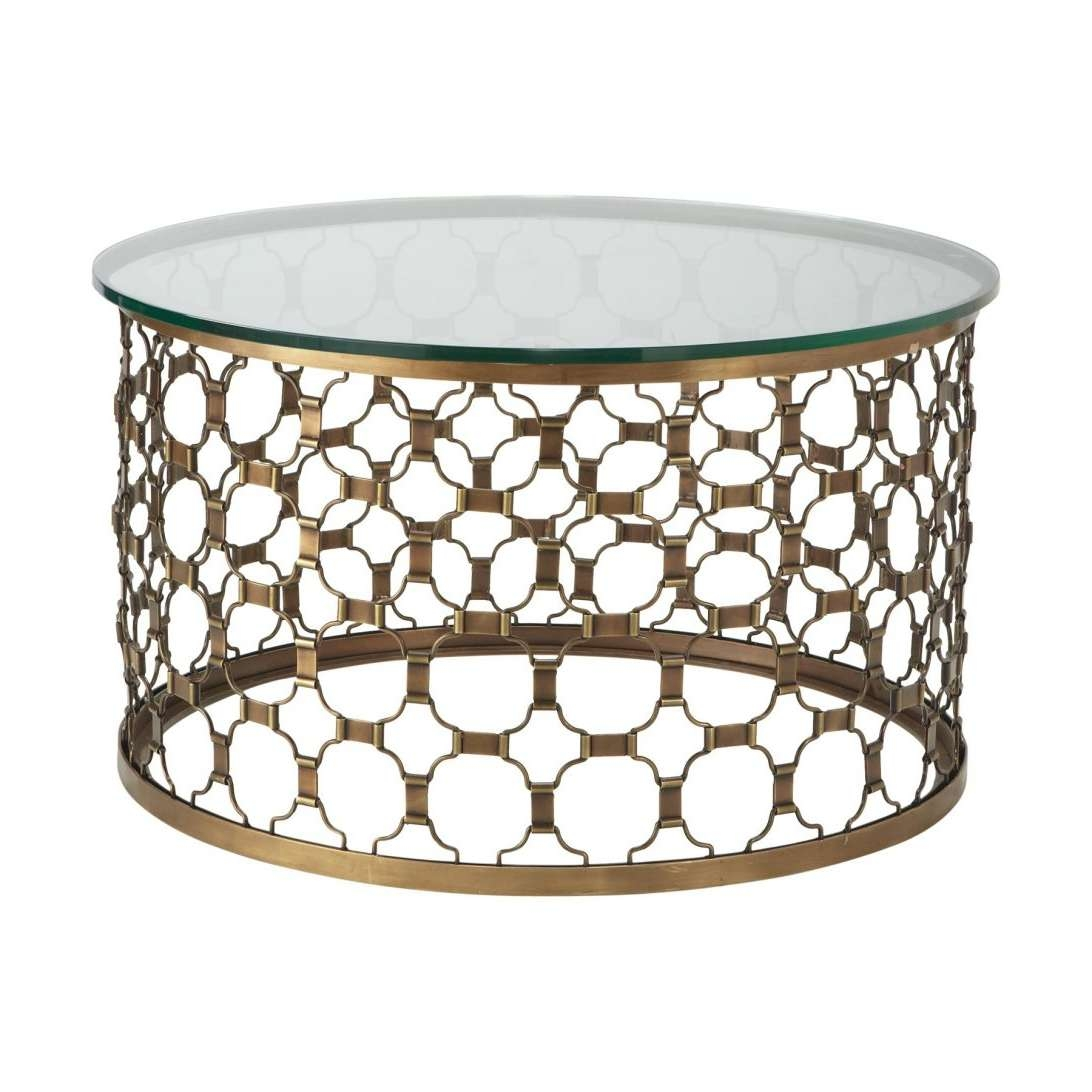 Fashionable Round Metal Coffee Tables Within Coffee Table Decorations Wood And Glass Tables Modern Ikea Metal L (View 7 of 20)