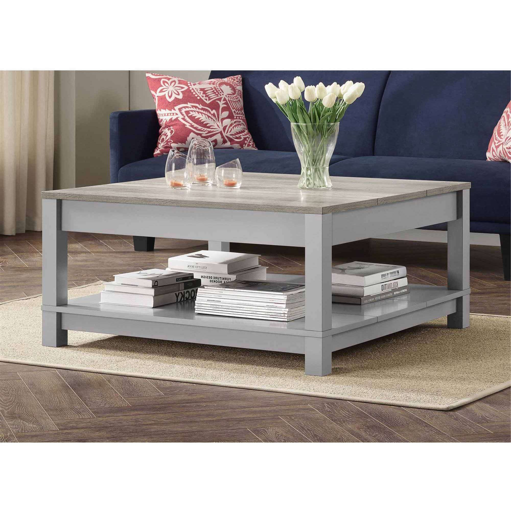 Fashionable Rustic Coffee Tables With Bottom Shelf In Better Homes And Gardens Langley Bay Coffee Table, Multiple Colors (View 6 of 20)