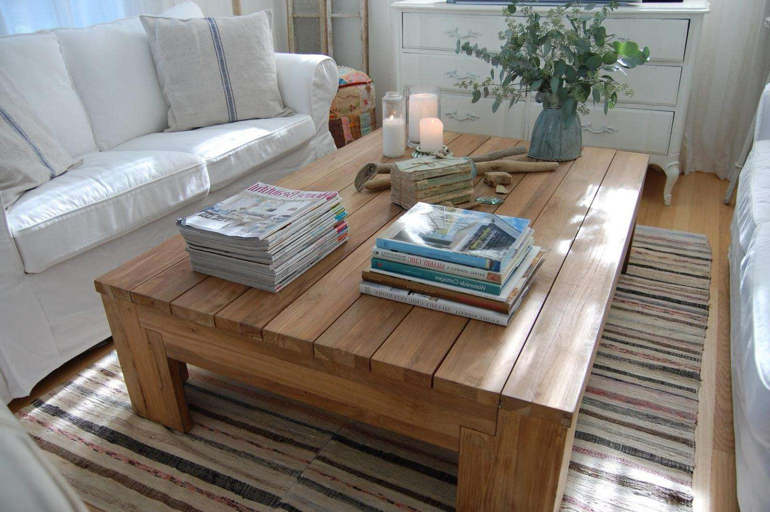 Fashionable Rustic Storage Diy Coffee Tables Intended For Coffee Tables : Mesmerizing Modern Coffee Table Plans Diy Rustic (View 17 of 20)
