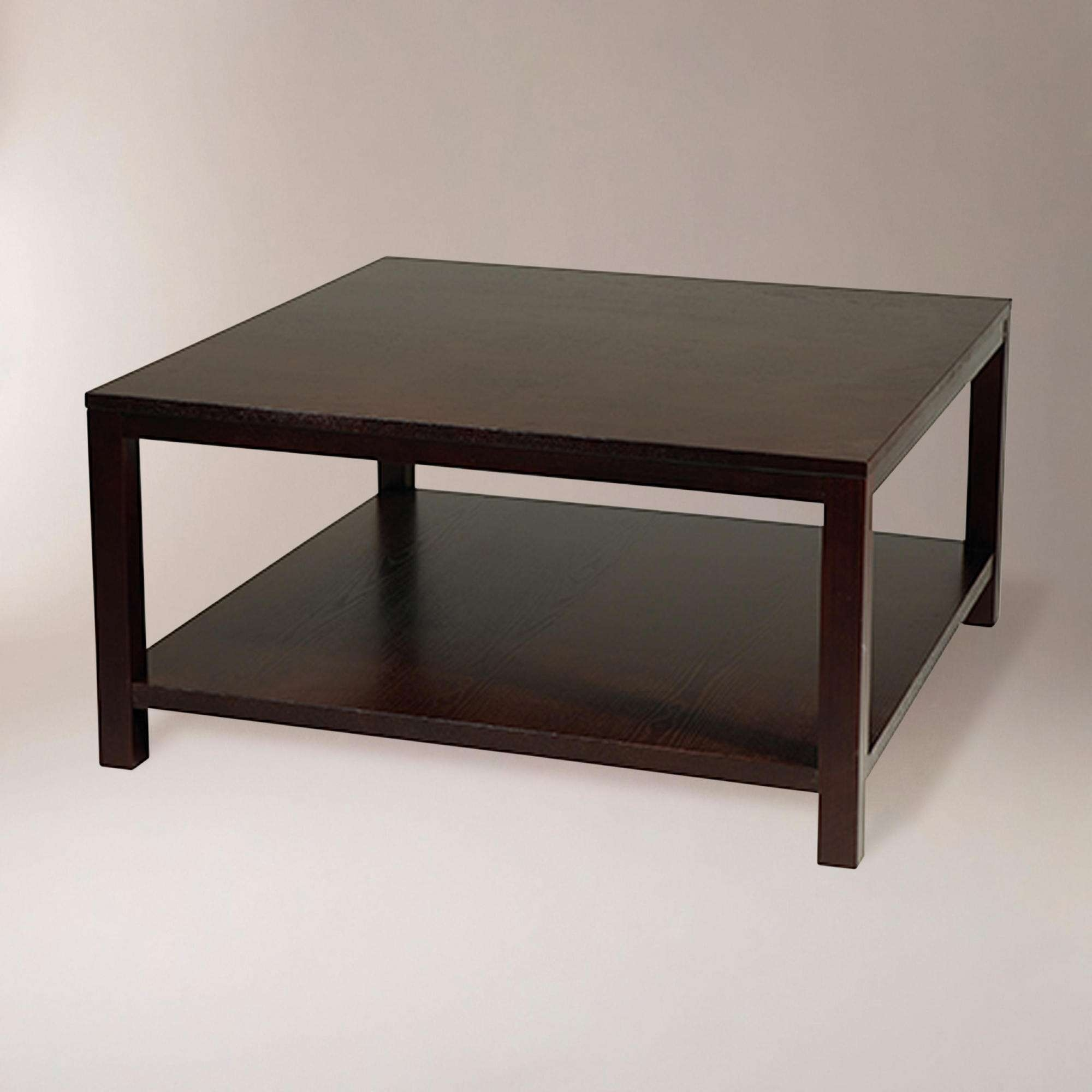 Fashionable Square Coffee Tables Pertaining To Coffee Table : Wonderful Silver Coffee Table Black Square Coffee (View 4 of 20)