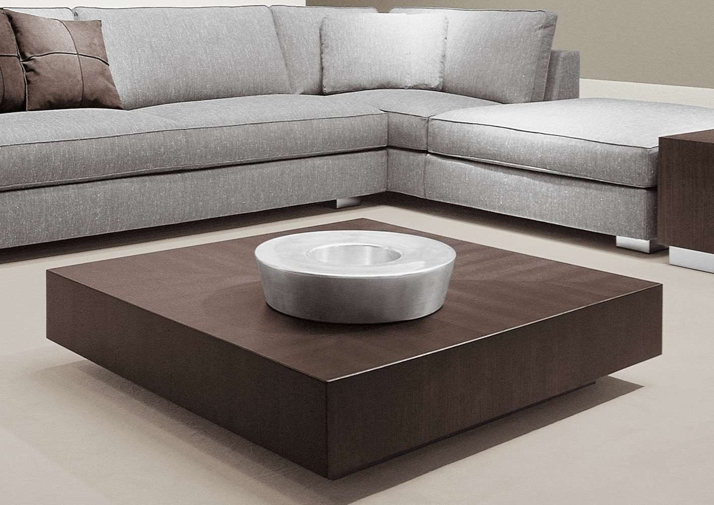 Fashionable Square Low Coffee Tables For Contemporary Coffee Table / Wooden / Steel / Square – Life (View 10 of 20)