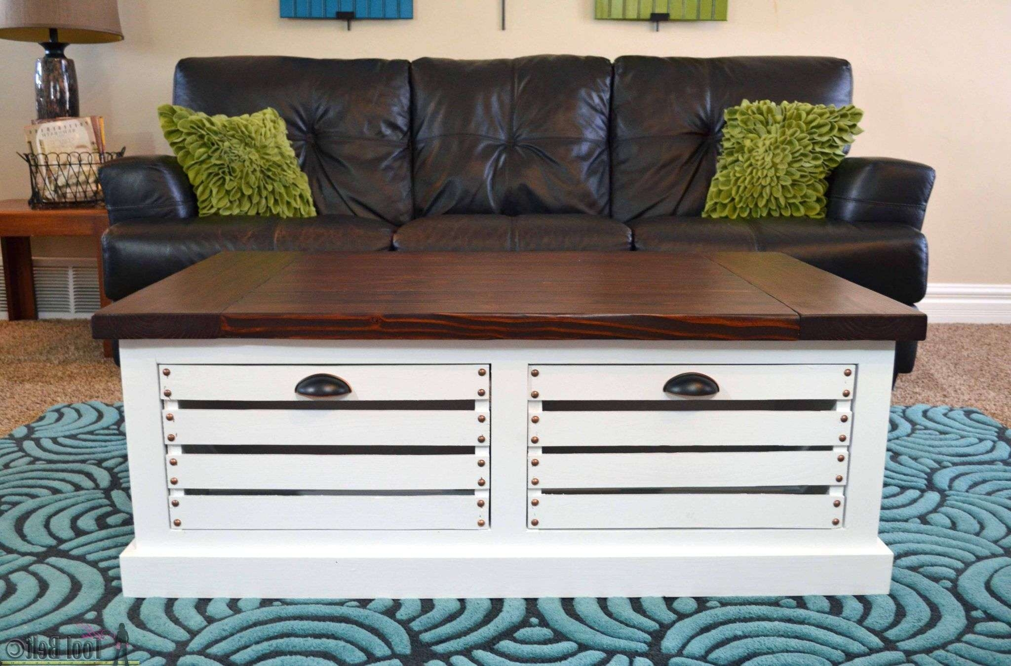 Fashionable Storage Coffee Tables For 19 Free Coffee Table Plans You Can Diy Today (View 5 of 20)