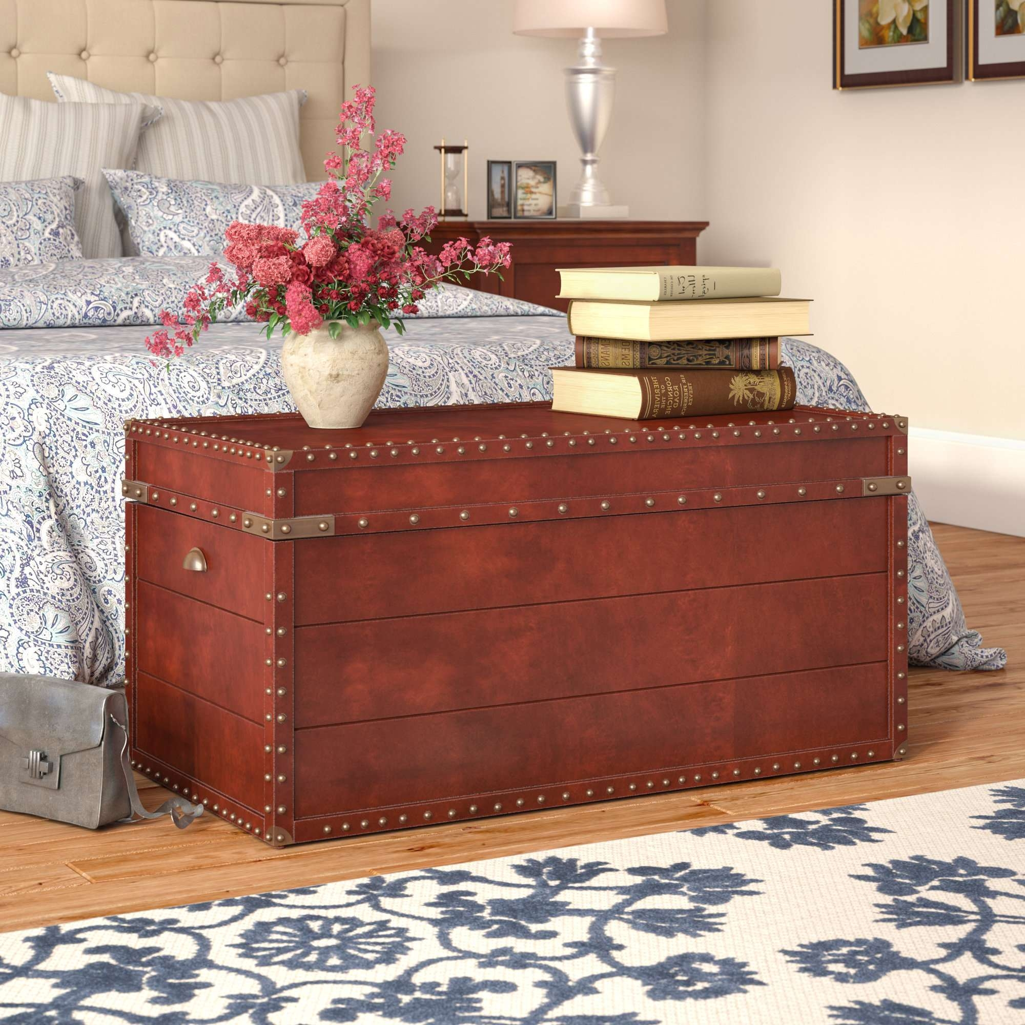 Fashionable Trunk Coffee Tables With Regard To Three Posts Perth Trunk Coffee Table & Reviews (View 18 of 20)