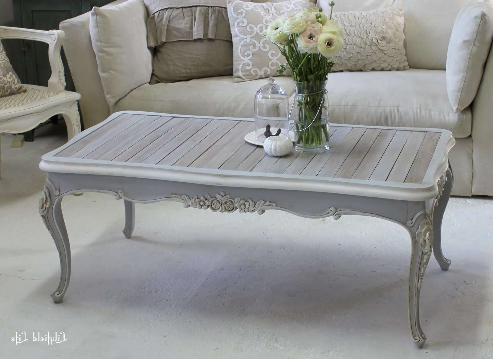 Fashionable White French Coffee Tables Inside Coffee Table : Coffee Table Dreadedrench Photos Ideas Small (View 9 of 20)