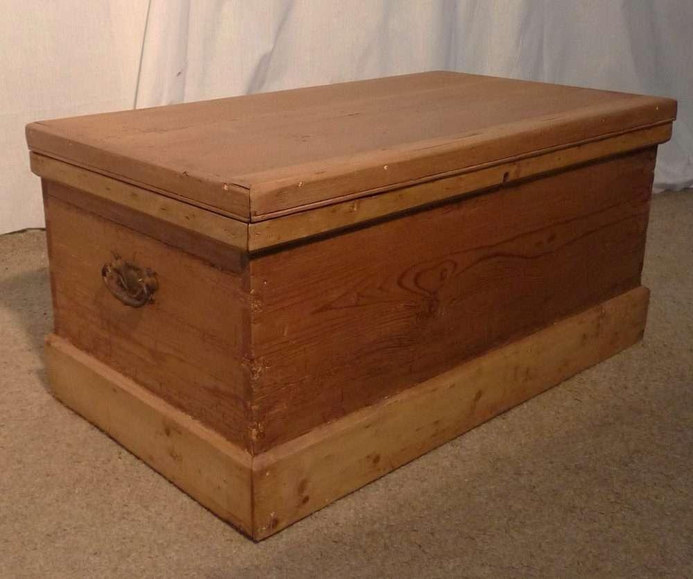 Favorite Blanket Box Coffee Tables Inside Victorian Rustic Pine Blanket Box Or Coffee Table – Antiques Atlas (View 11 of 20)