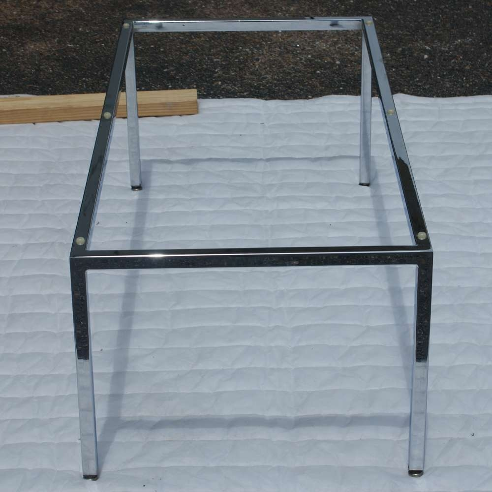 Favorite Chrome Coffee Table Bases Pertaining To Midcentury Retro Style Modern Architectural Vintage Furniture From (View 12 of 20)