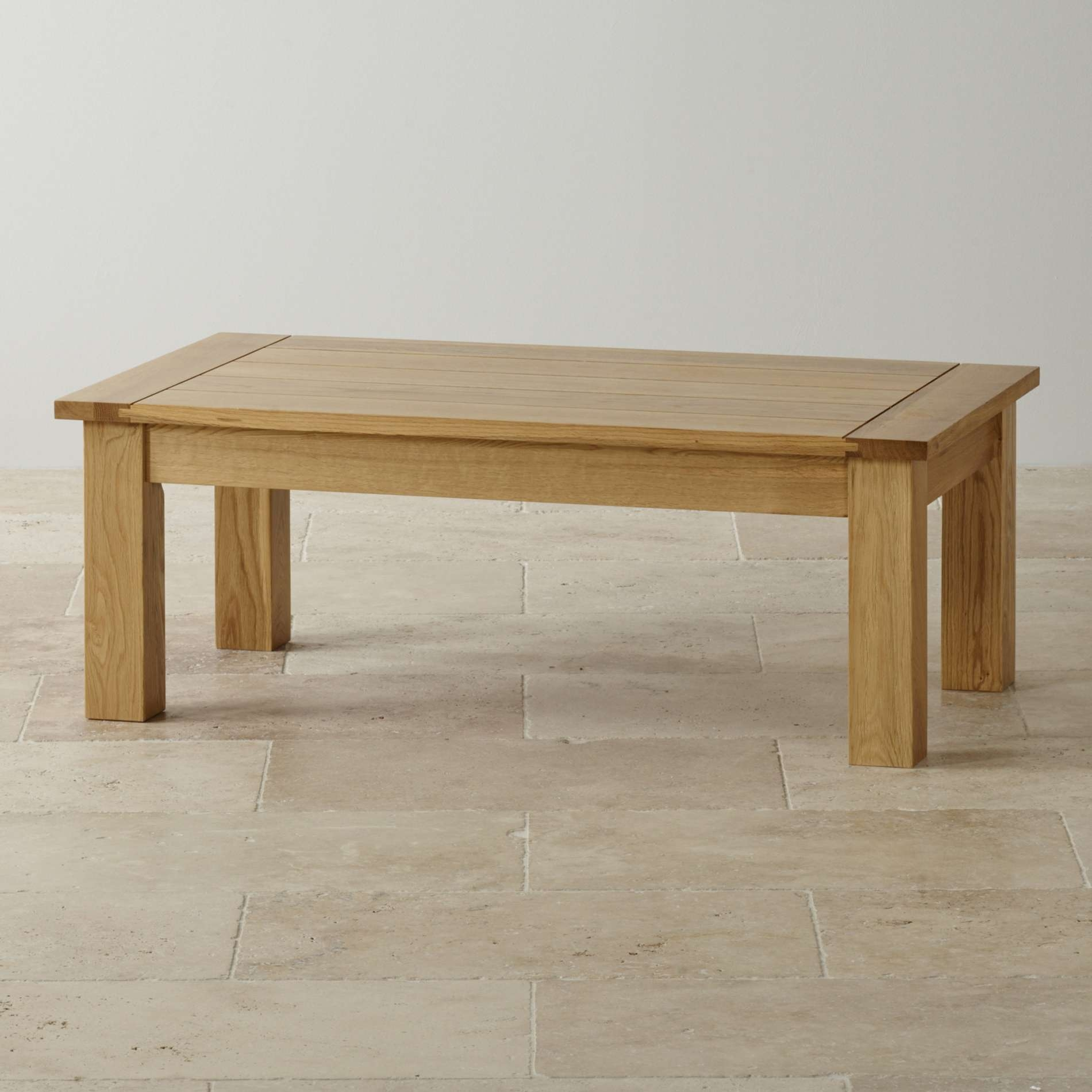 Favorite Chunky Oak Coffee Tables For 11 Oak Living Room Tables, Pemberton Solid Chunky Oak Living Room (View 13 of 20)