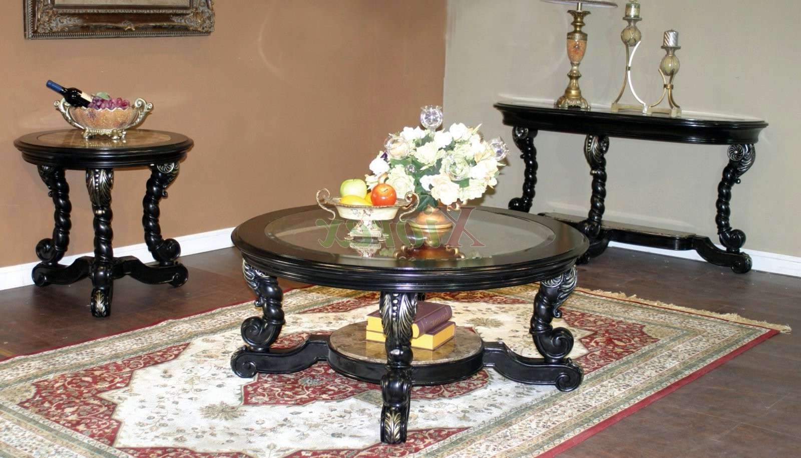 Favorite Coffee Table With Matching End Tables For Alya Coffee Table Set Living Room Furniture Toronto (View 6 of 20)